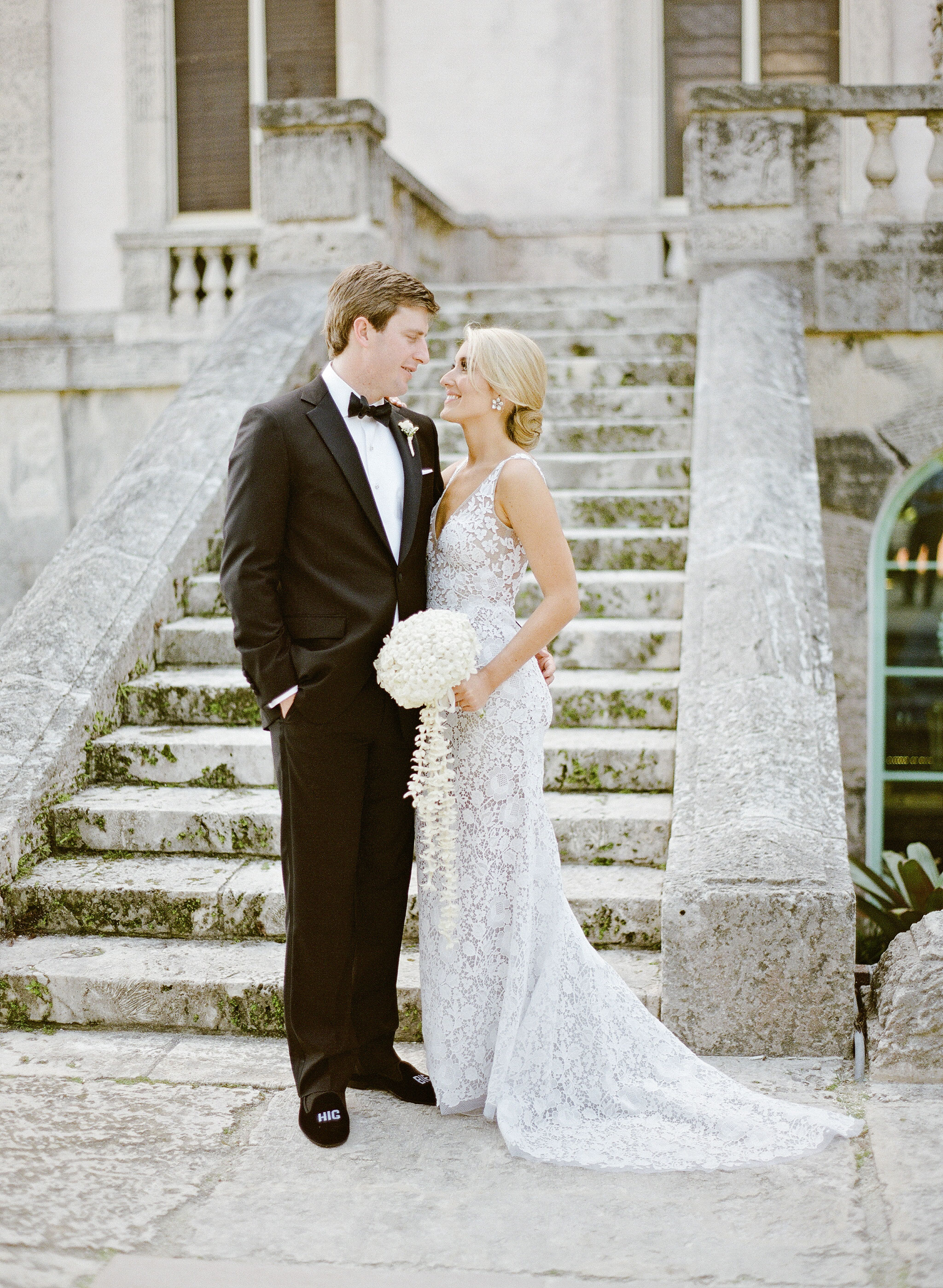 natalie jamey wedding couple gaze