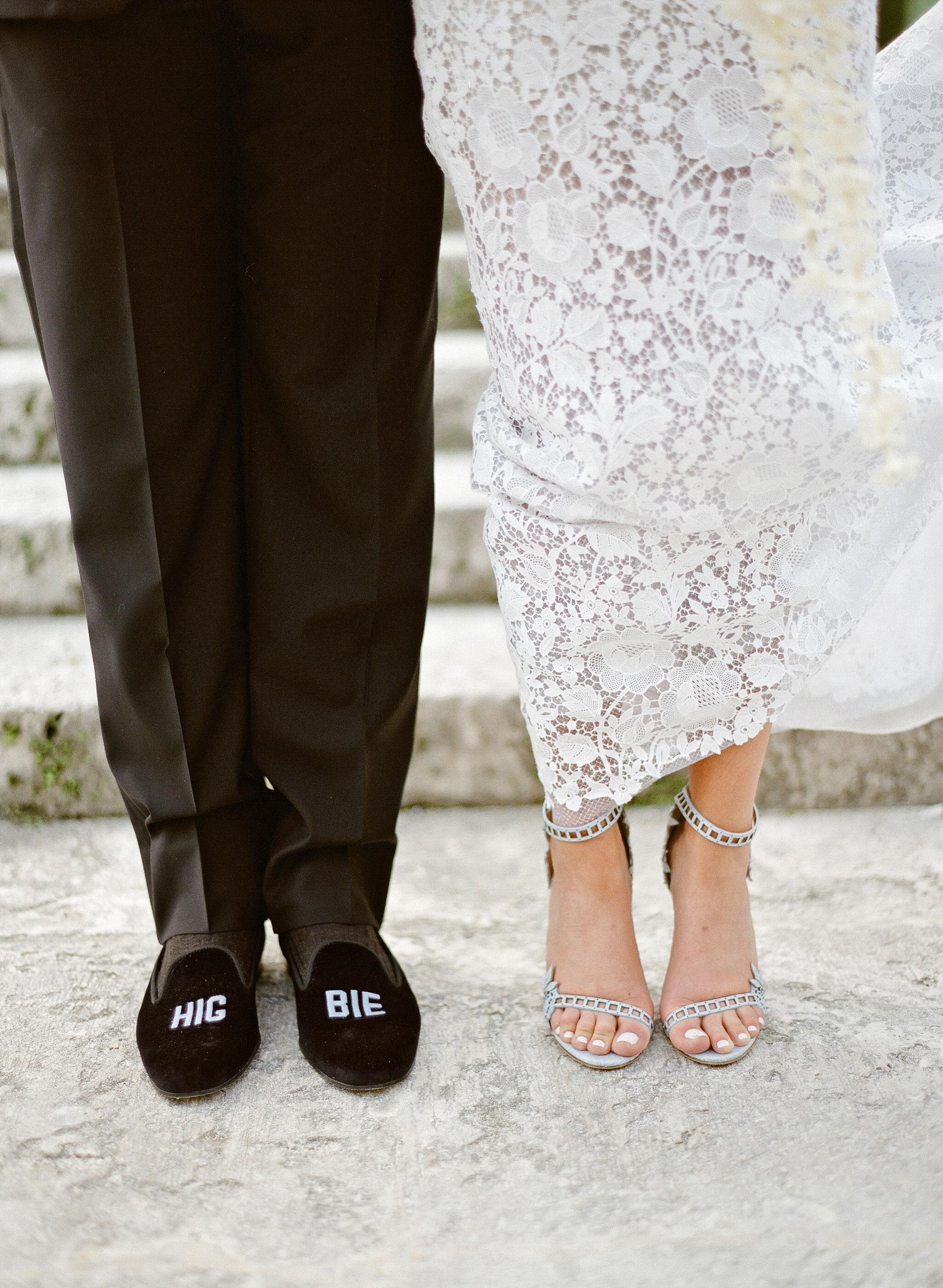 natalie jamey wedding shoes closeup