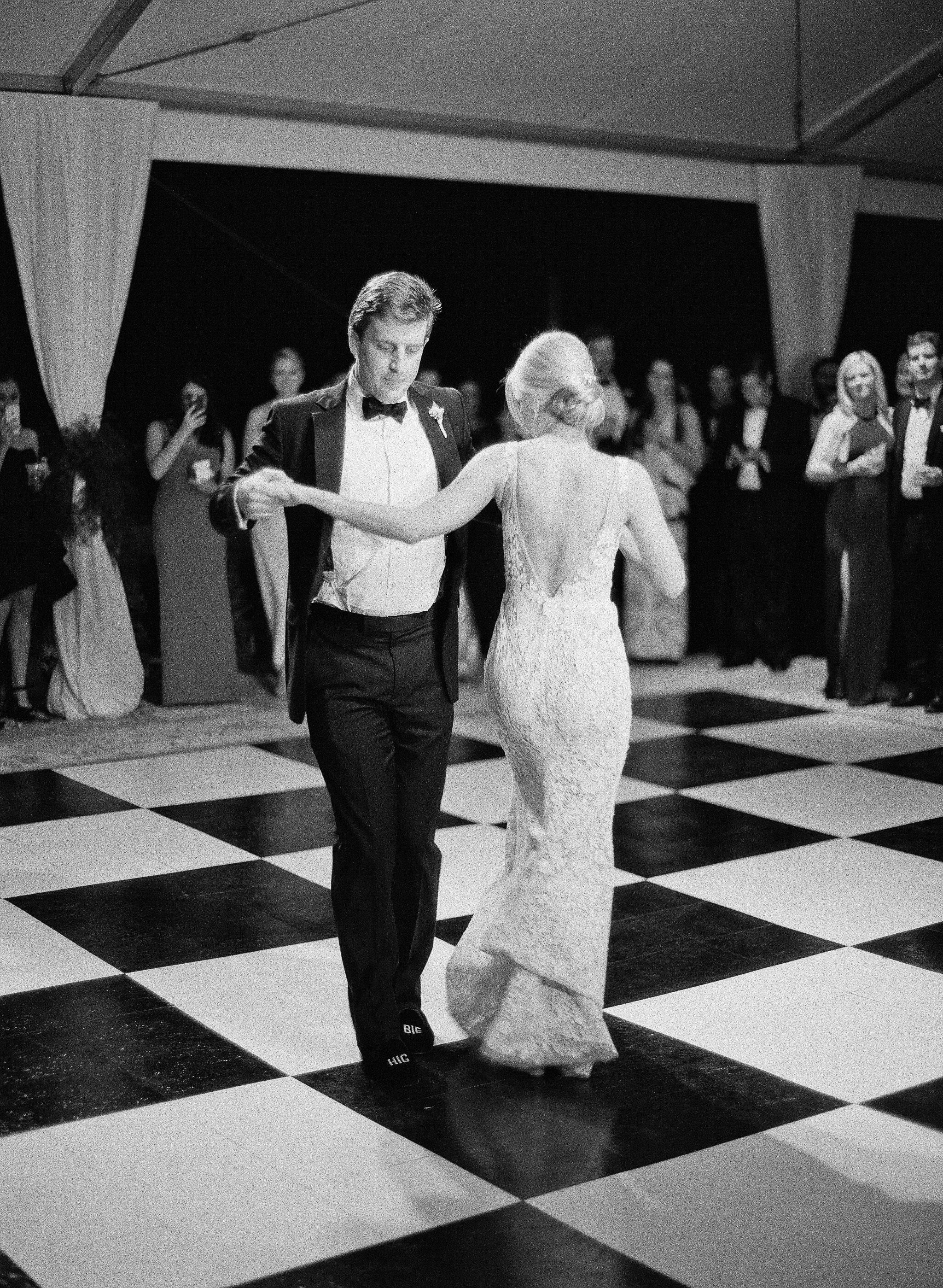 natalie jamey wedding dancing