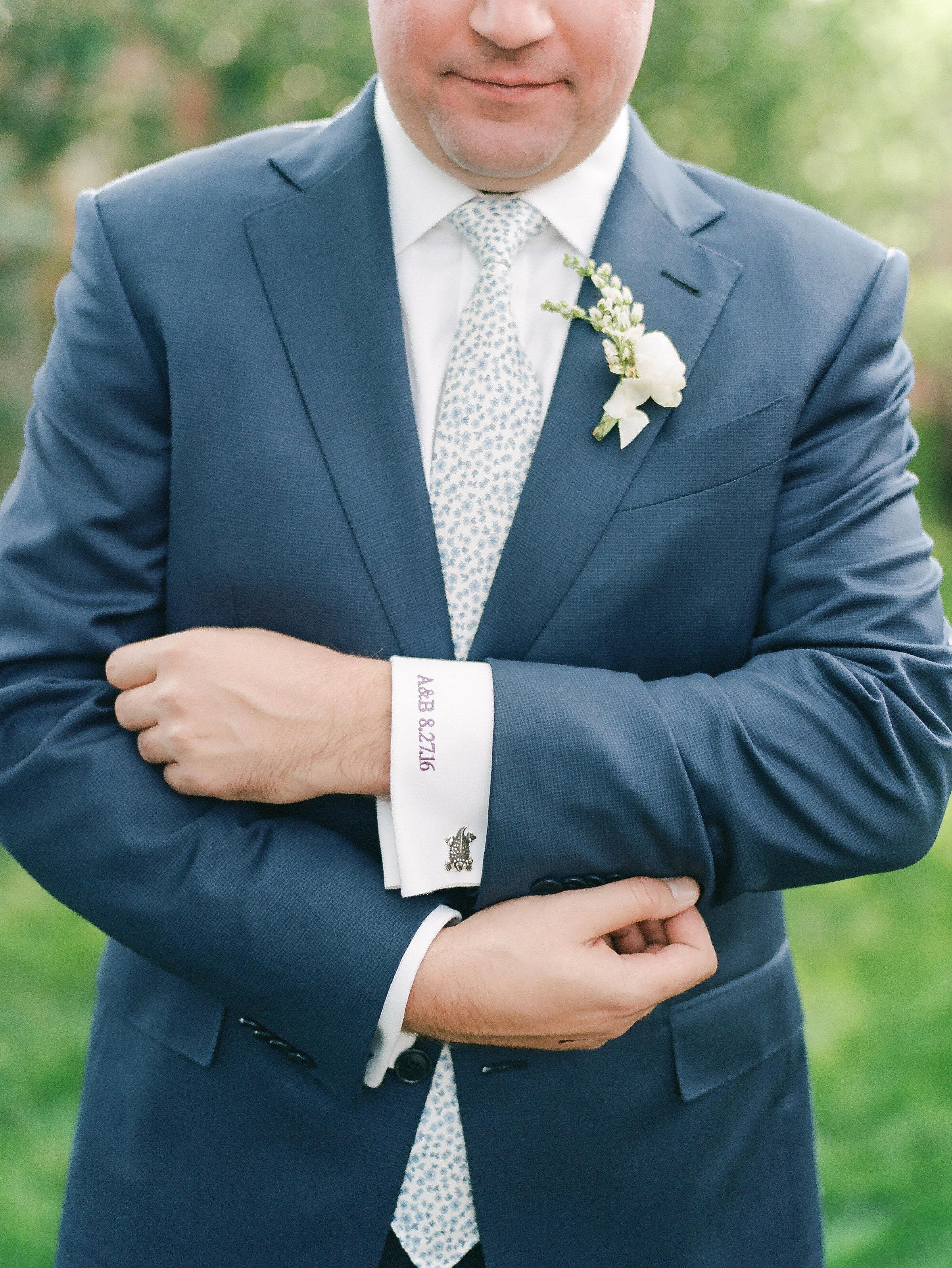 custom wedding cuff