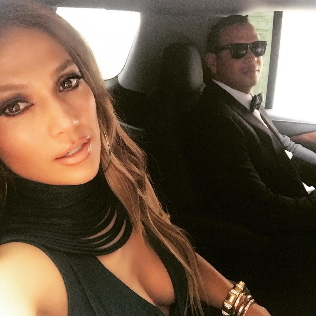 Jennifer Lopez and Alex Rodriguez Wedding Date Night