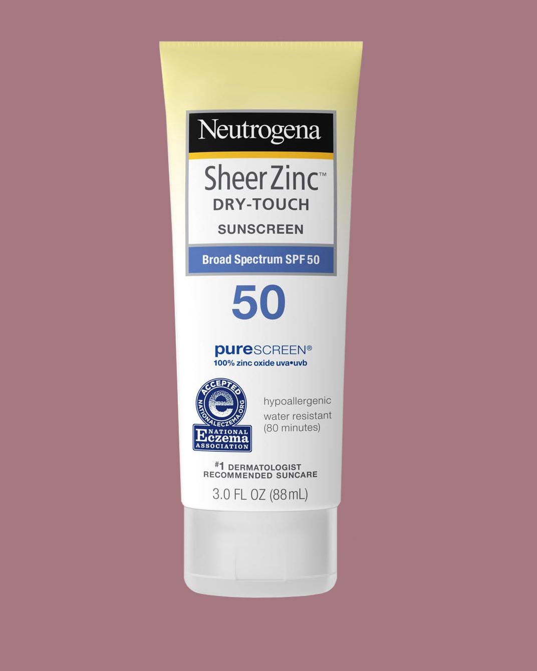 Neutrogena Sheer Zinc Dry-Touch Sunscreen
