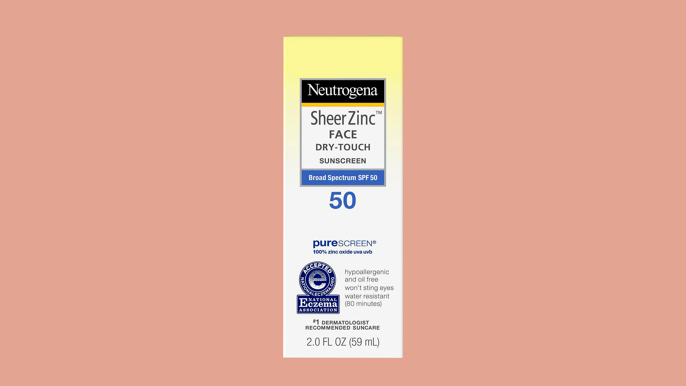 "Neutrogena ""SheerZinc"" Facial Sunscreen"