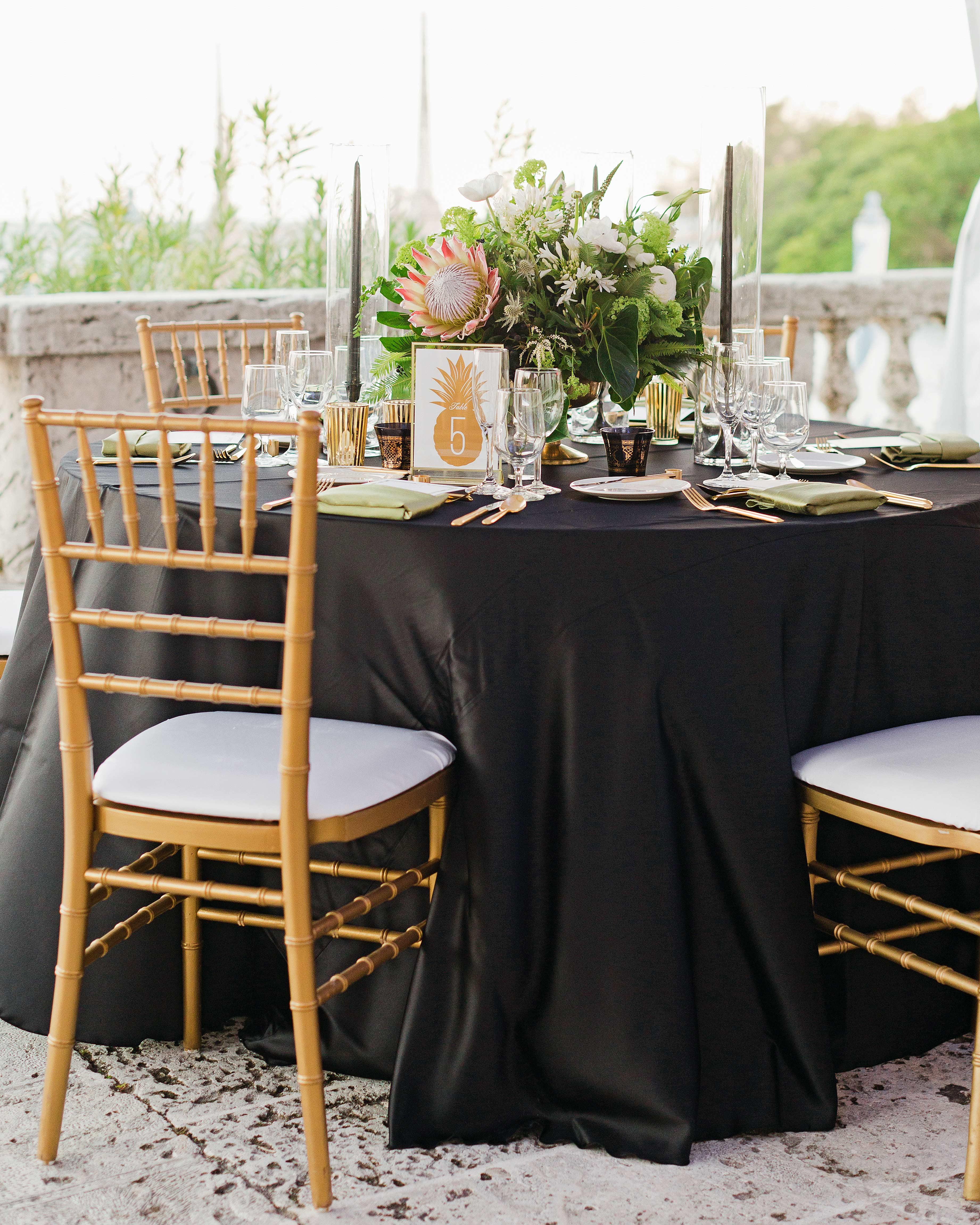 brette patrick wedding table setting