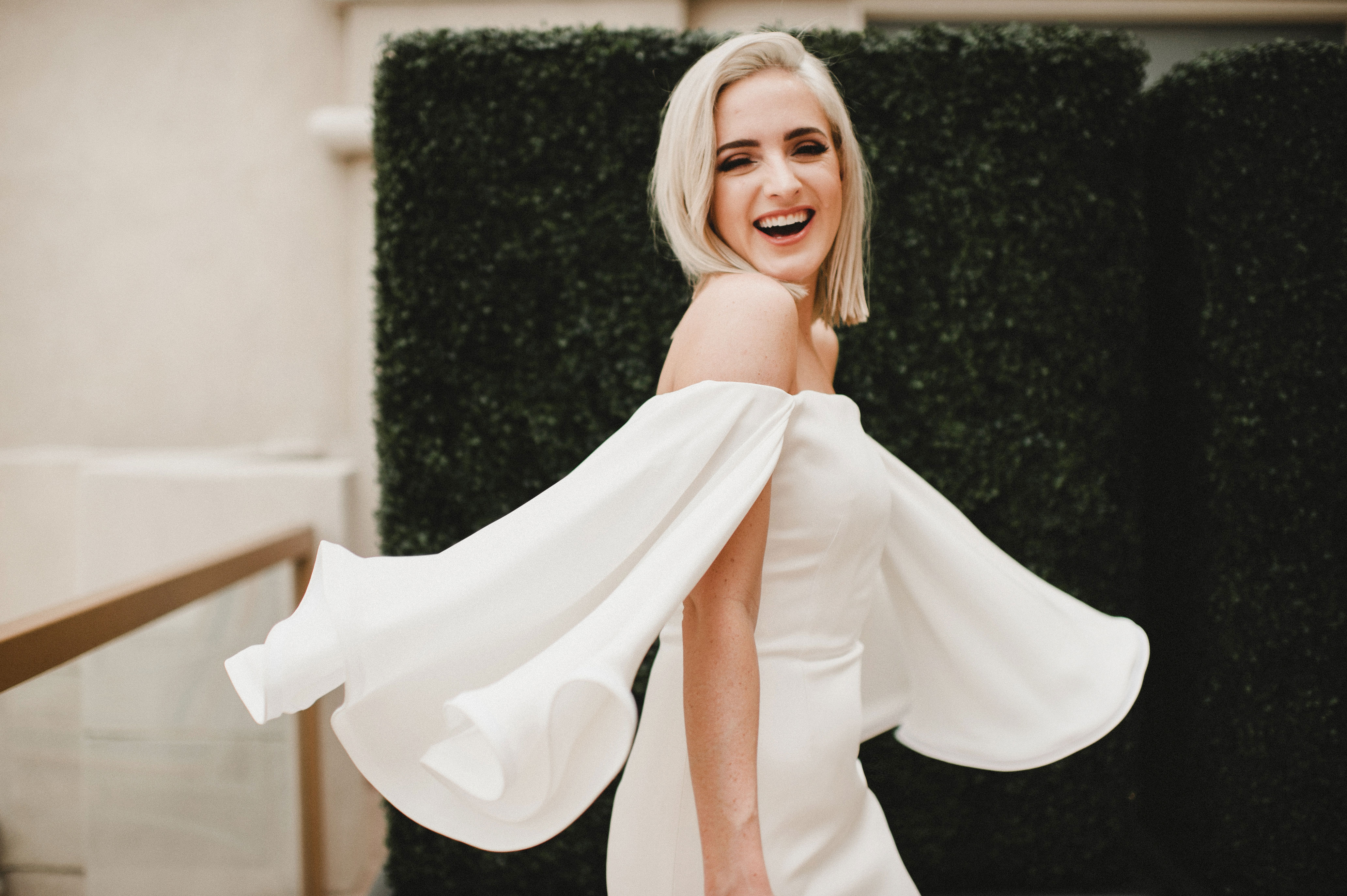 off the shoulder wedding dresses carina skrobecki