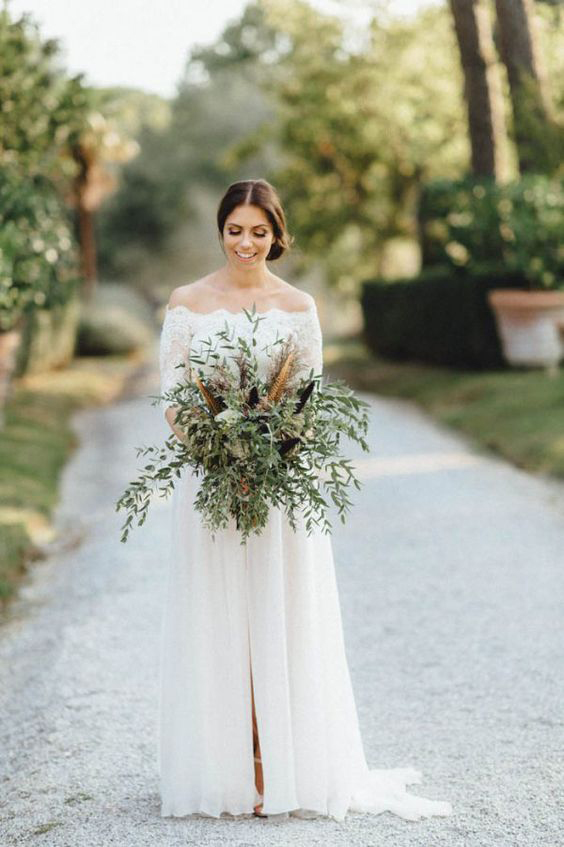 off the shoulder wedding dresses kreativ wedding