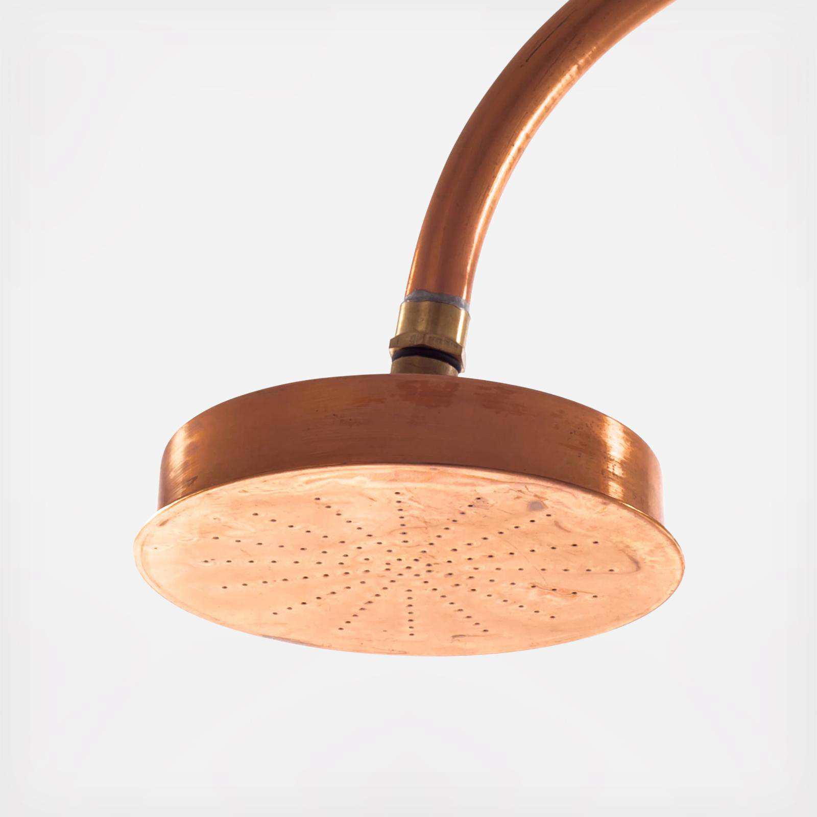 morning registry items seletti aquart lux copper shower head