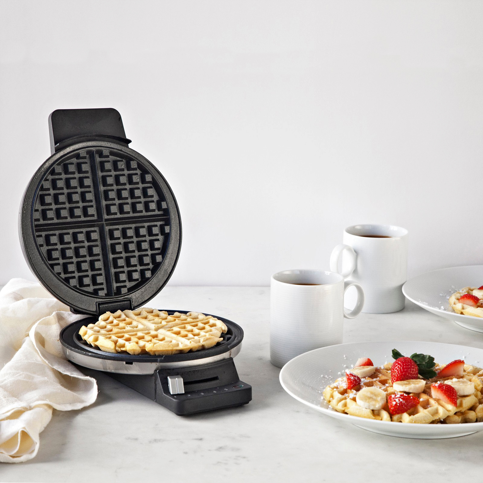 morning registry items cuisinart round classic waffle maker