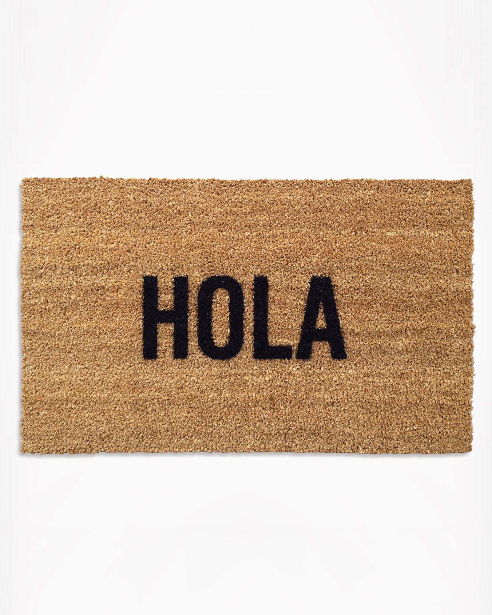 morning registry items reed wilson design hola doormat