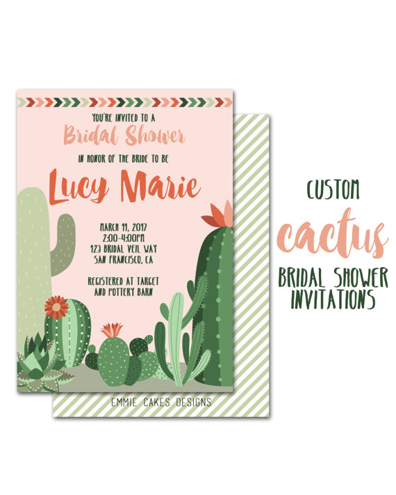 cactus invitation