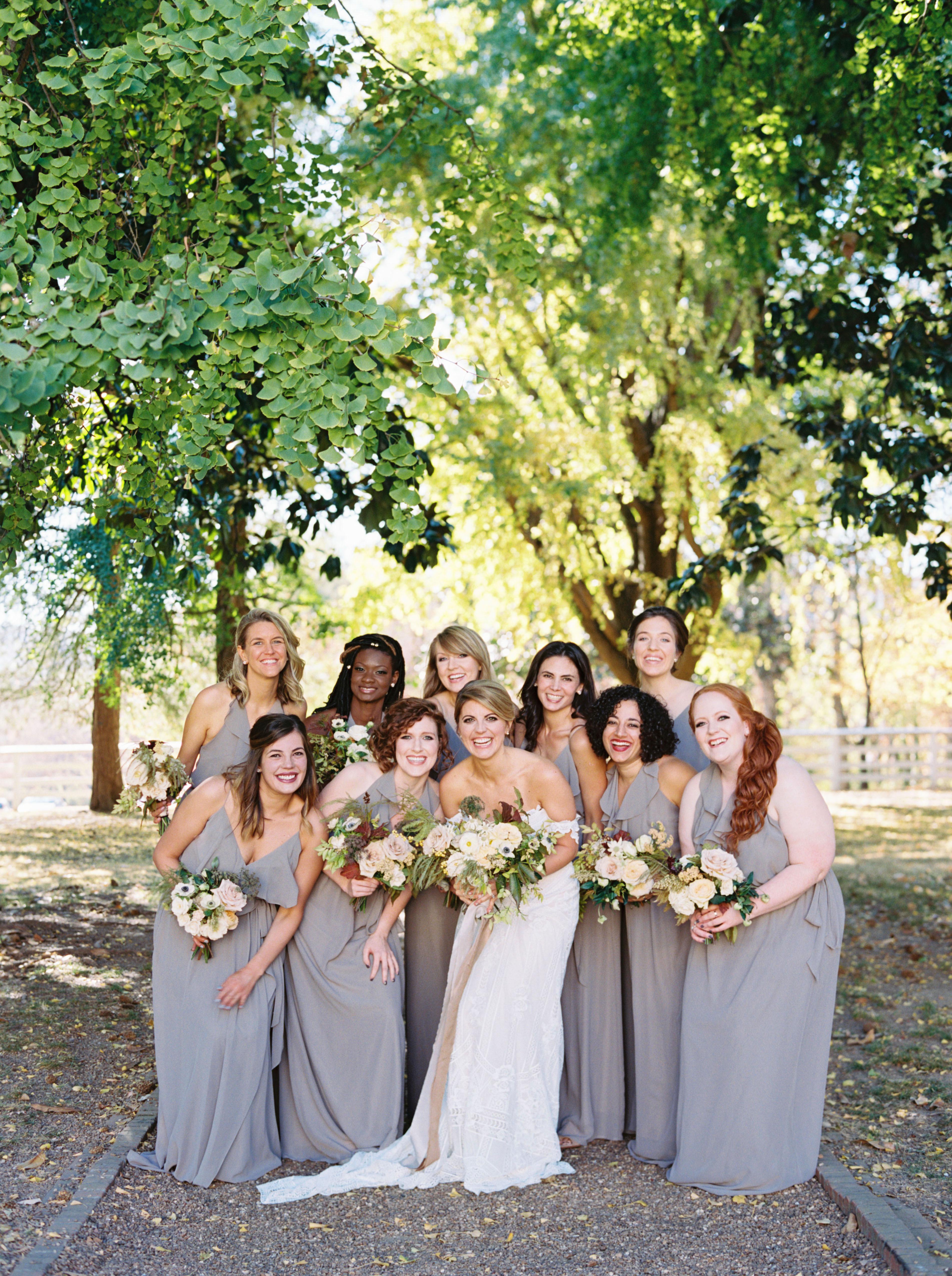 jayme barry wedding bridesmaids