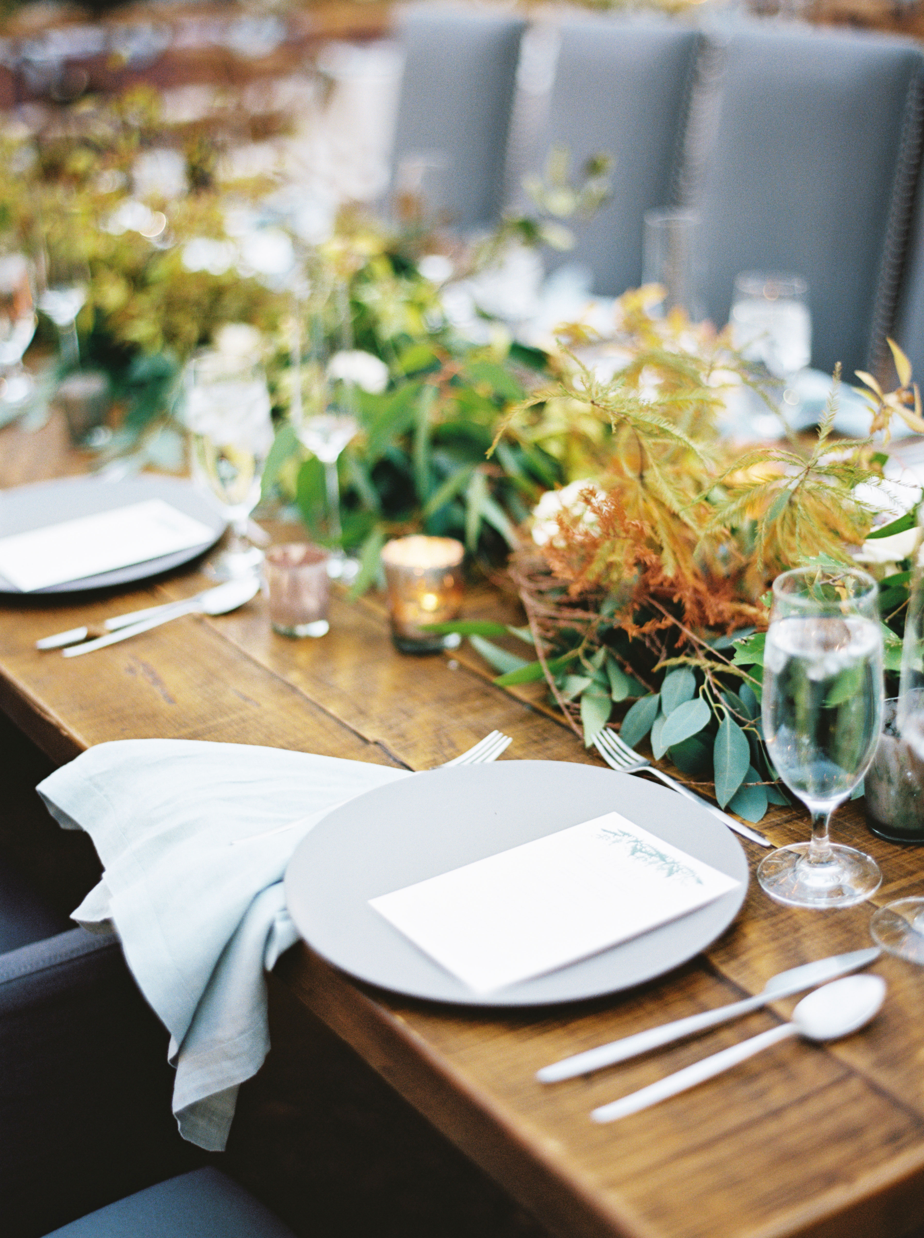 jayme barry wedding placesetting