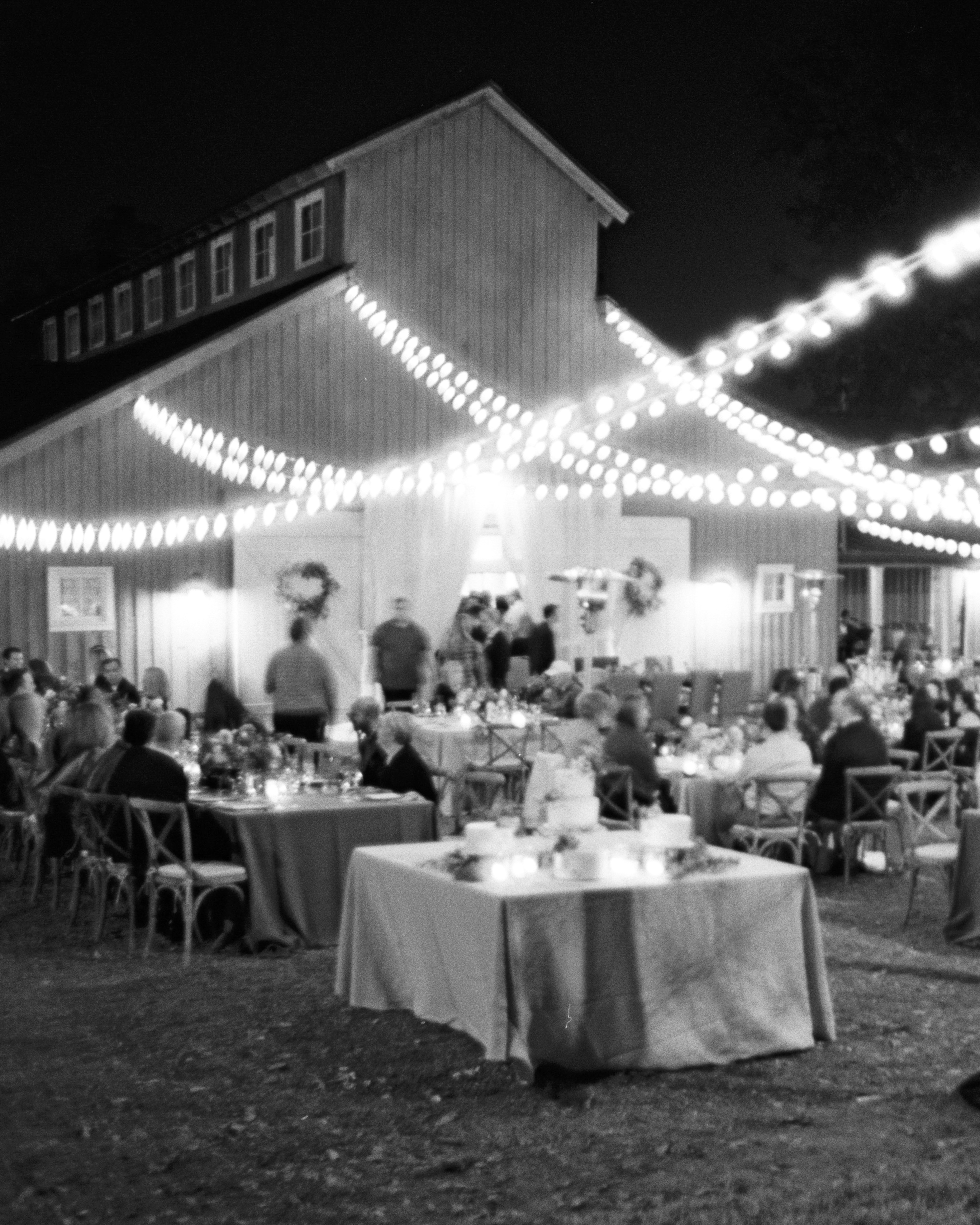 jayme barry wedding reception setting