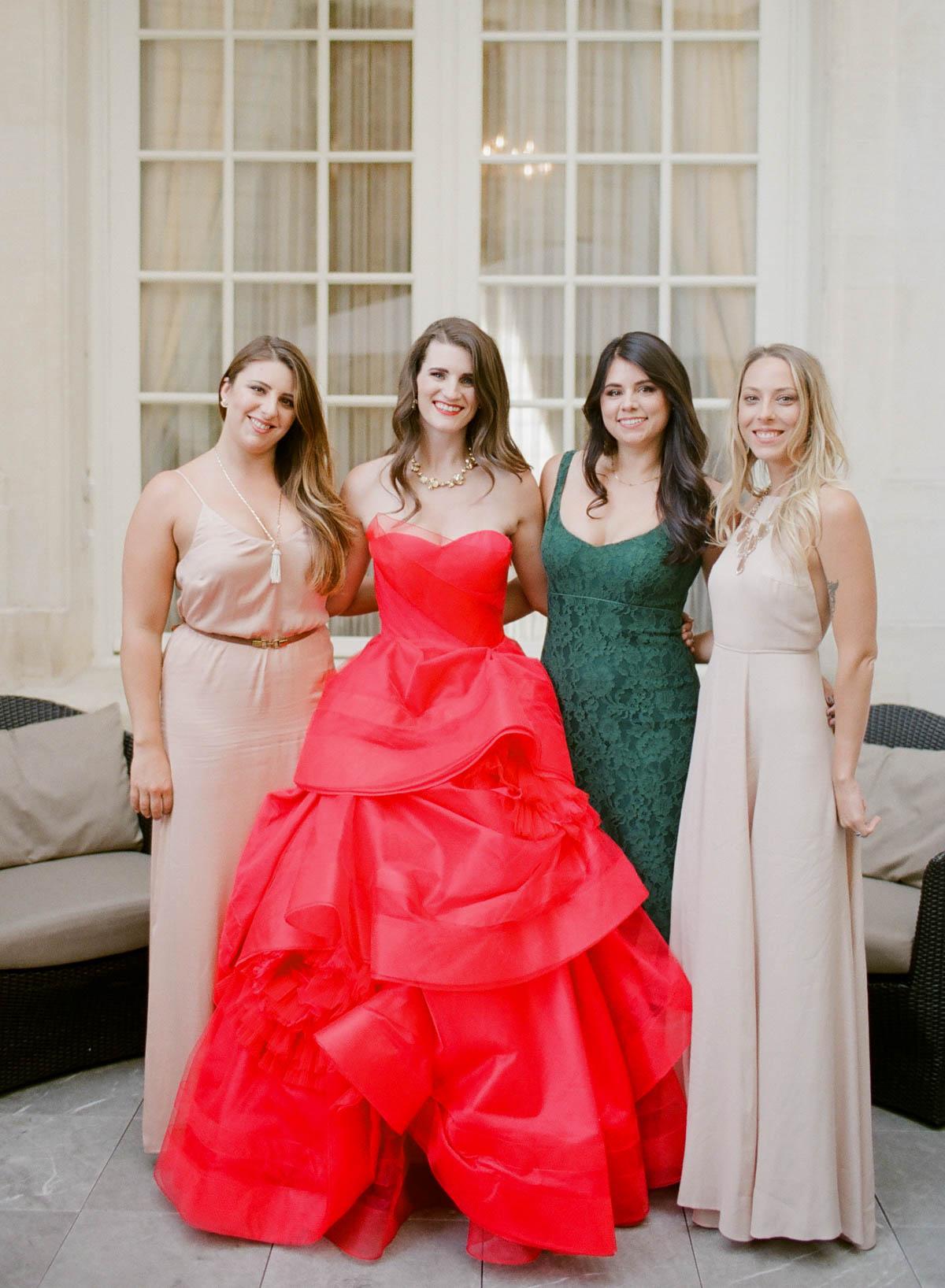Wedding Paris friends