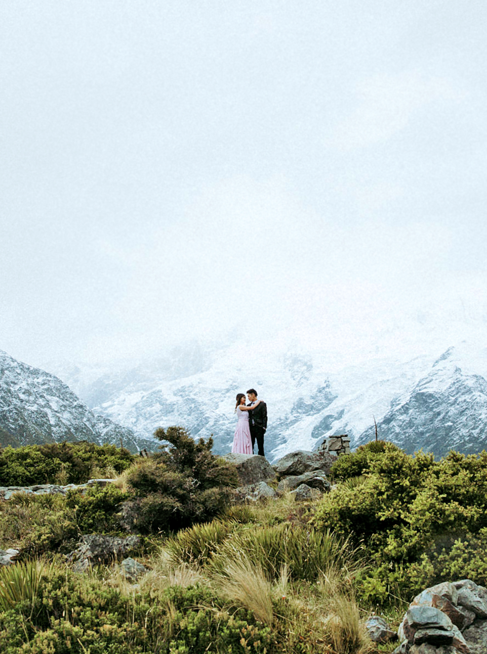 epic elopement locations new zealand
