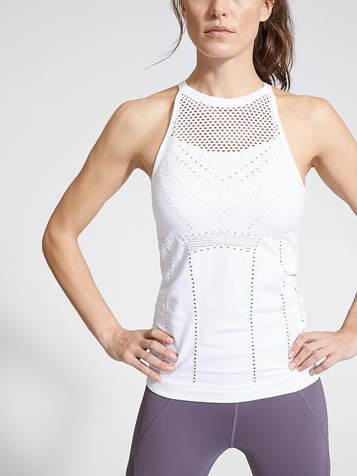 workout top white