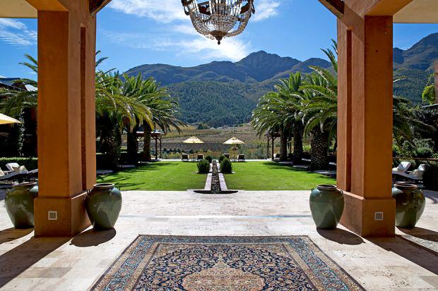 resort patio
