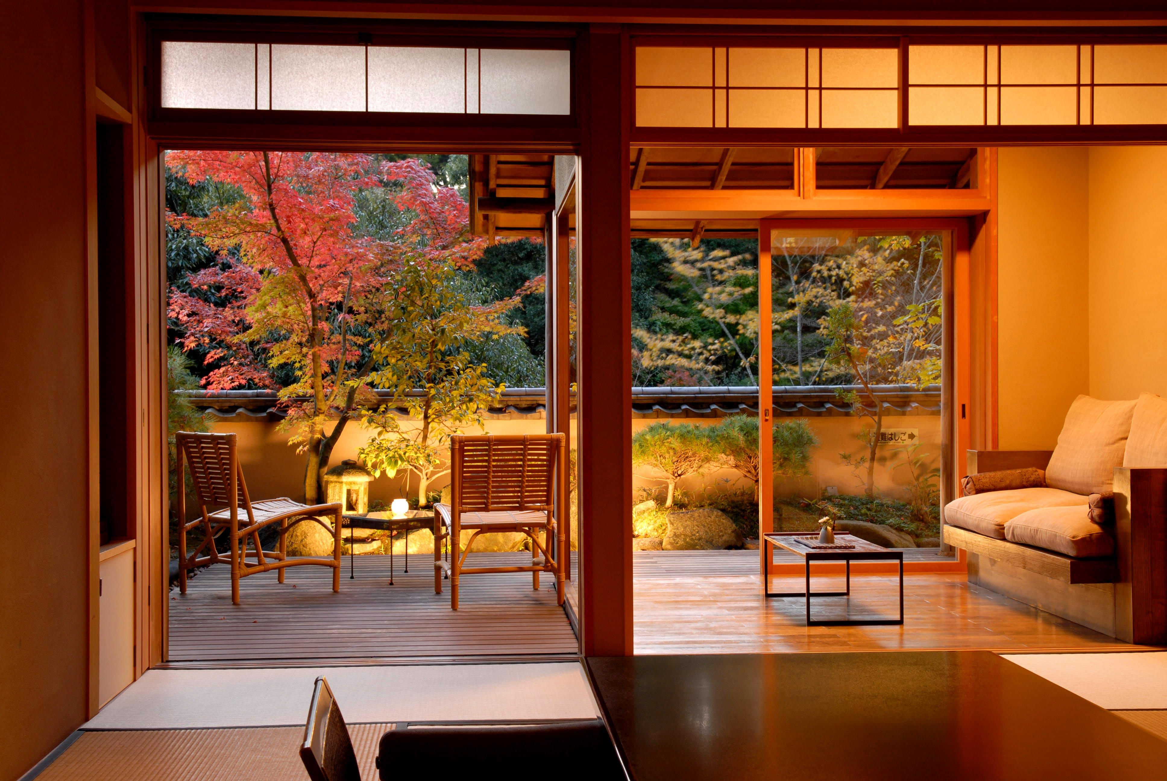 japanese resort garden room