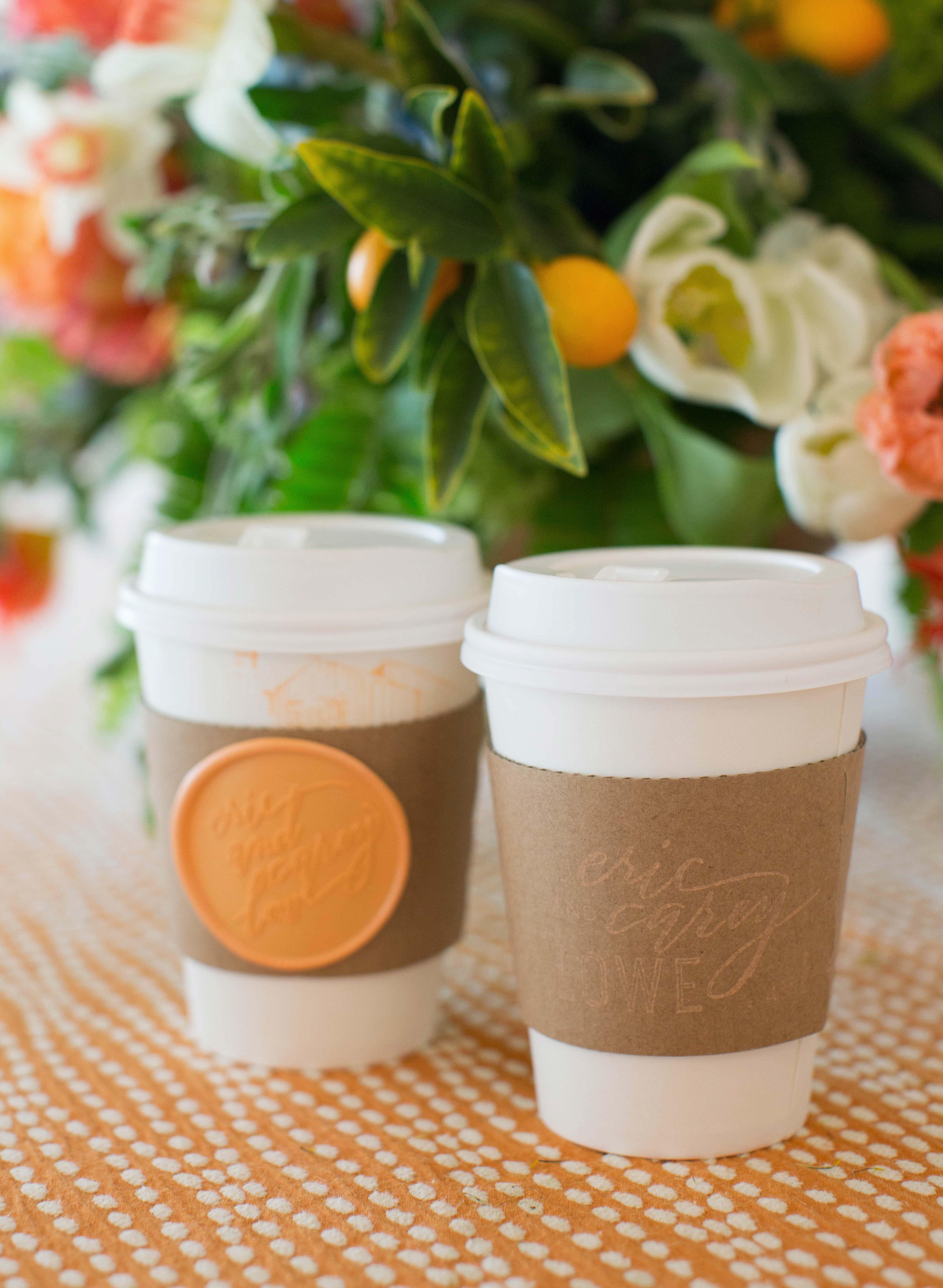 wedding brunch coffee