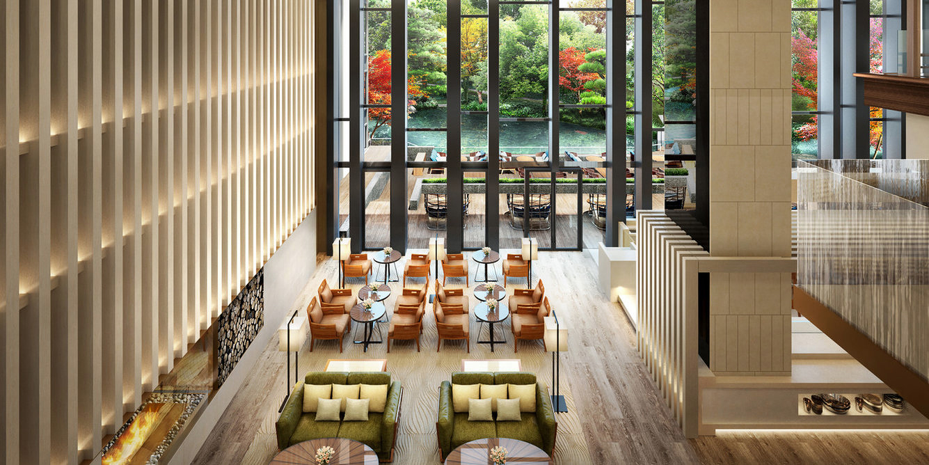 lounge chairs hotel