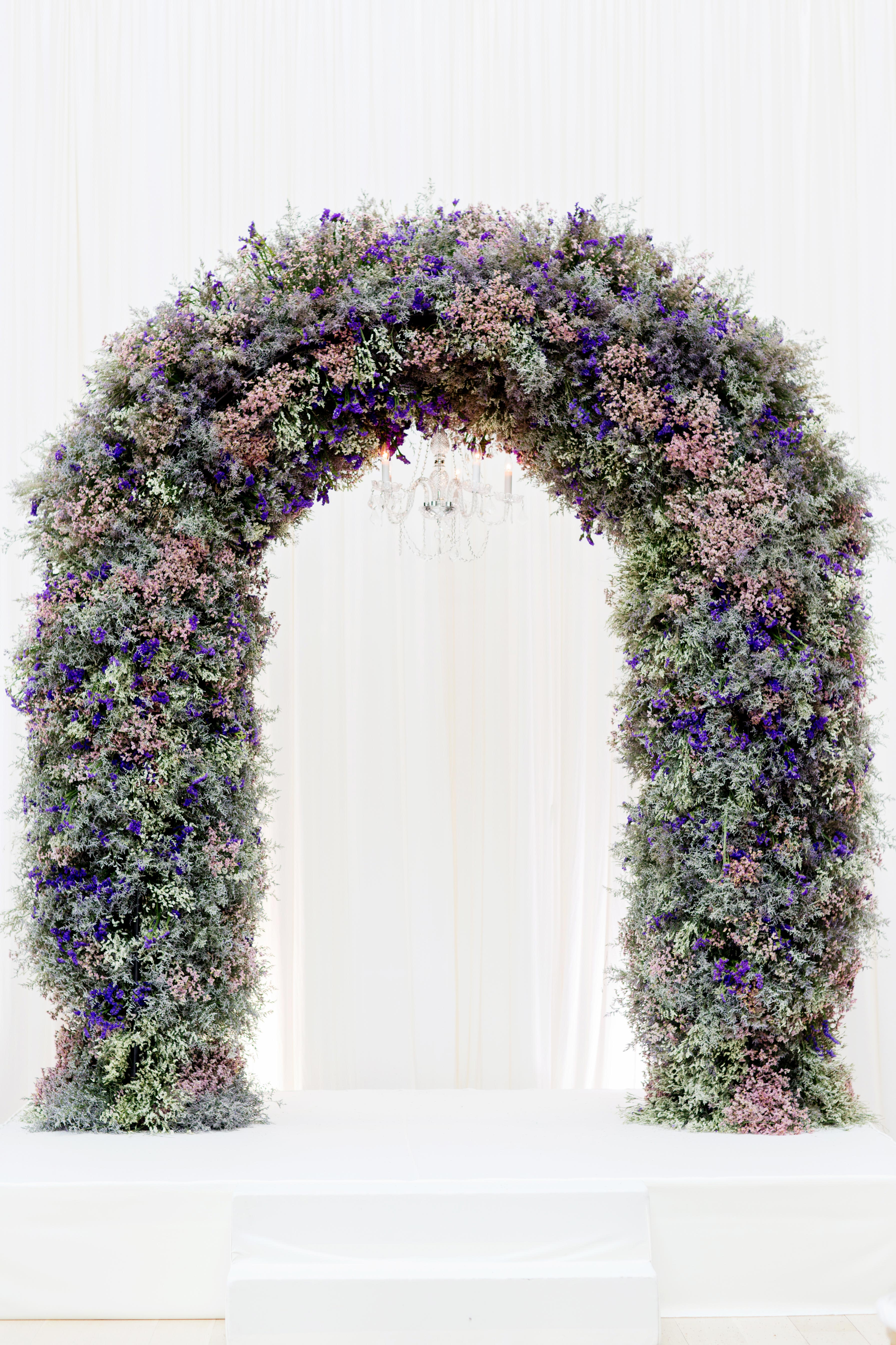 Lavender Ceremony Arch