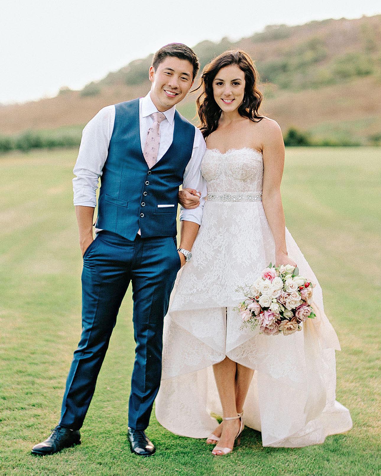 perri phillip wedding california couple