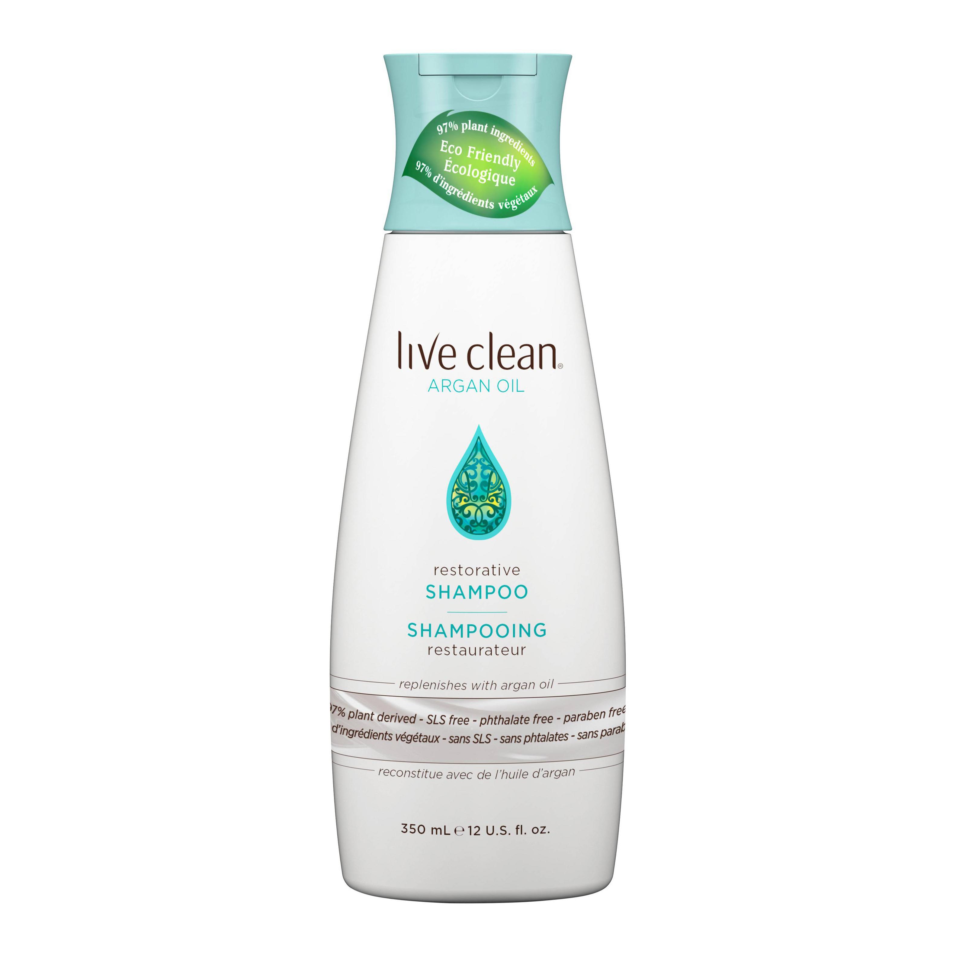 natural shampoos live clean