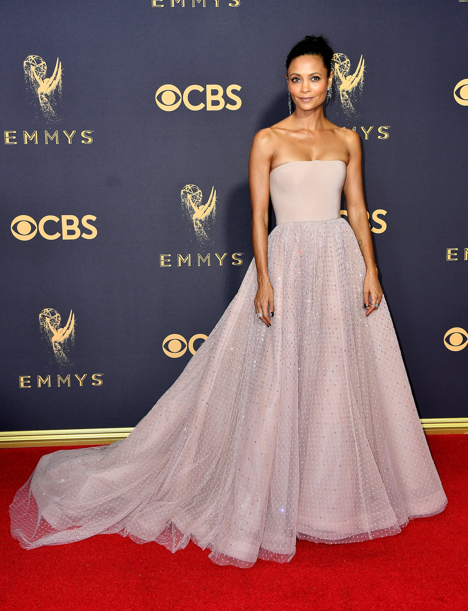 Thandie Newton Emmys Red Carpet 2017