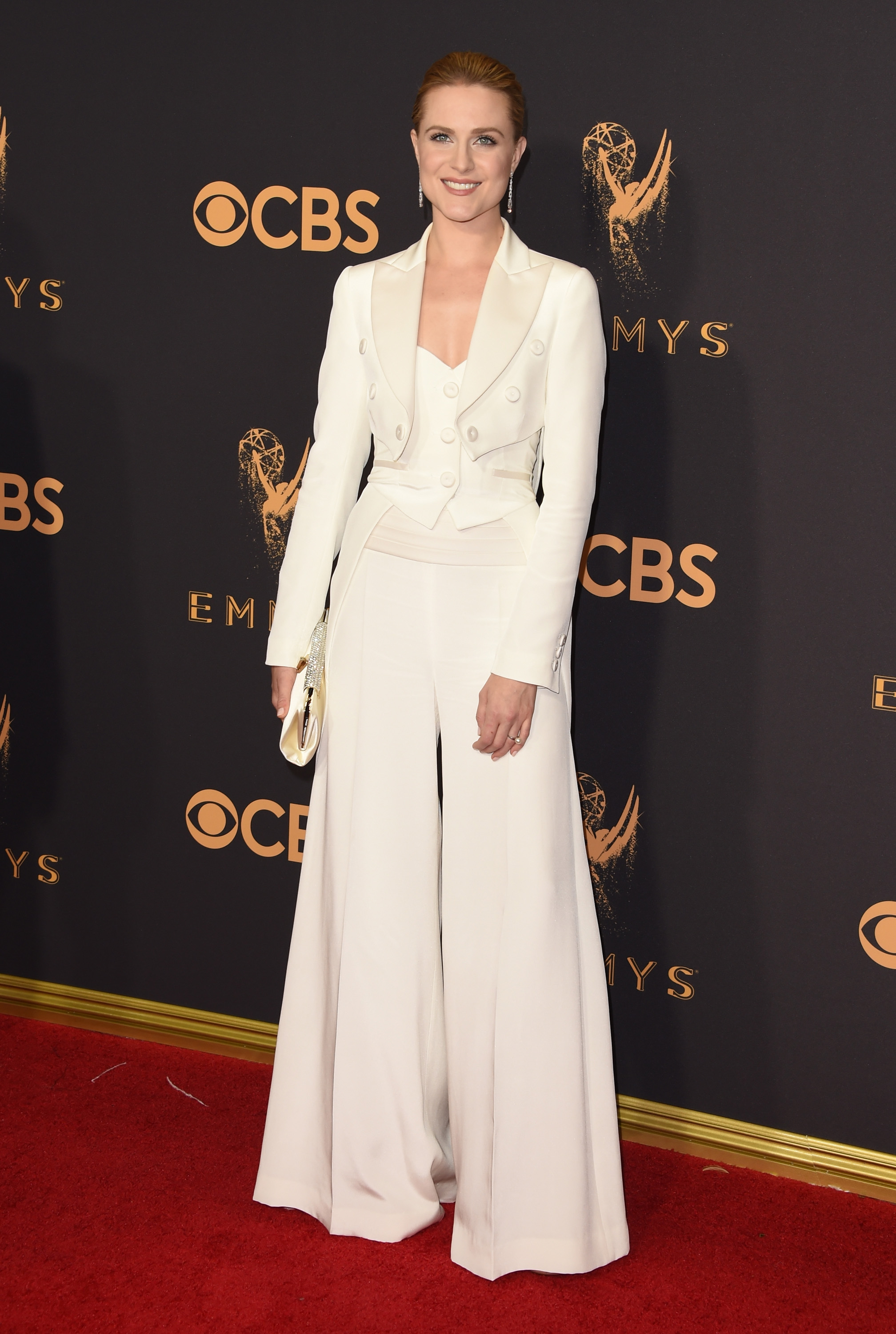 Evan Rachel Wood Emmys Red Carpet 2017