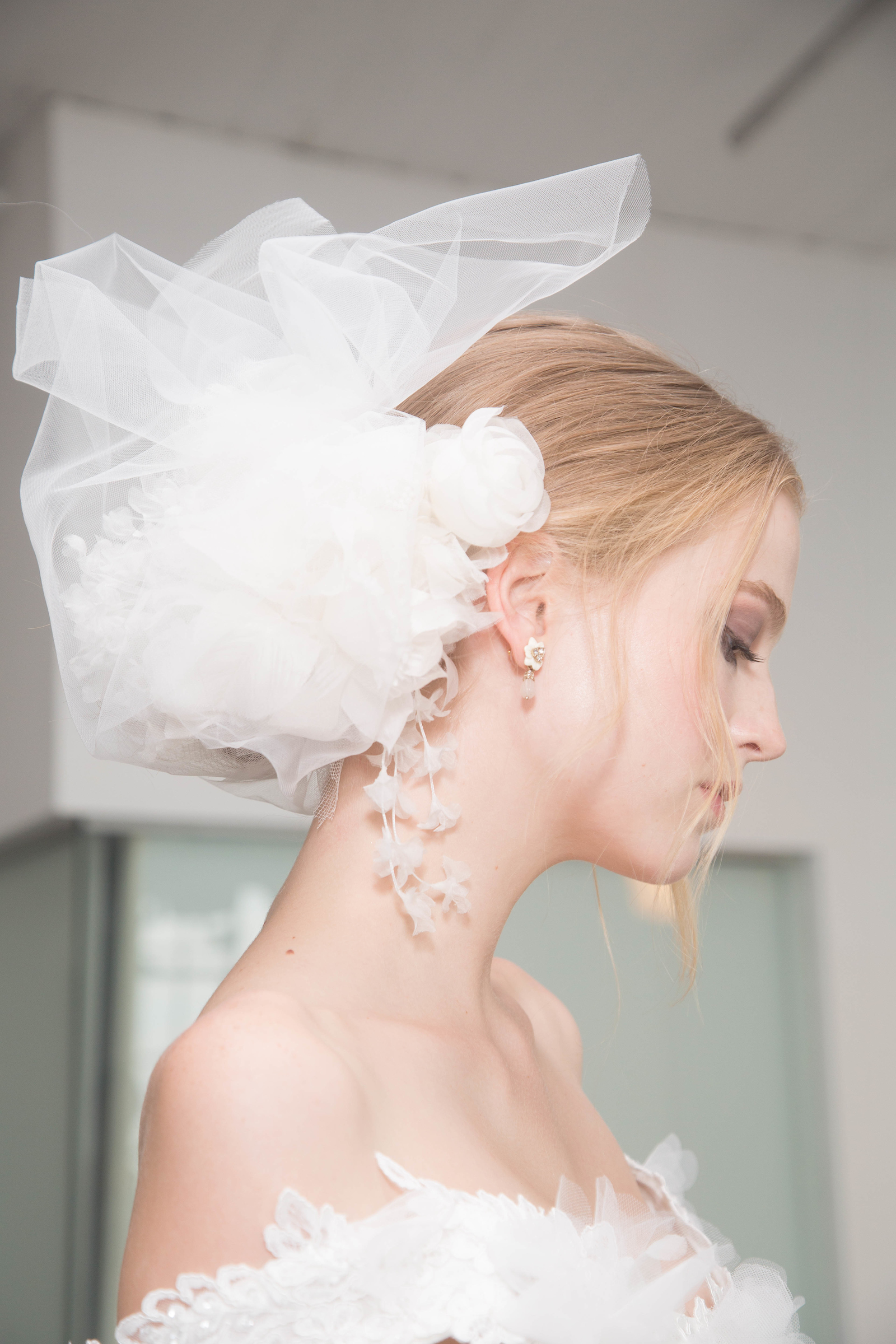 Marchesa Flower Hair Accessory
