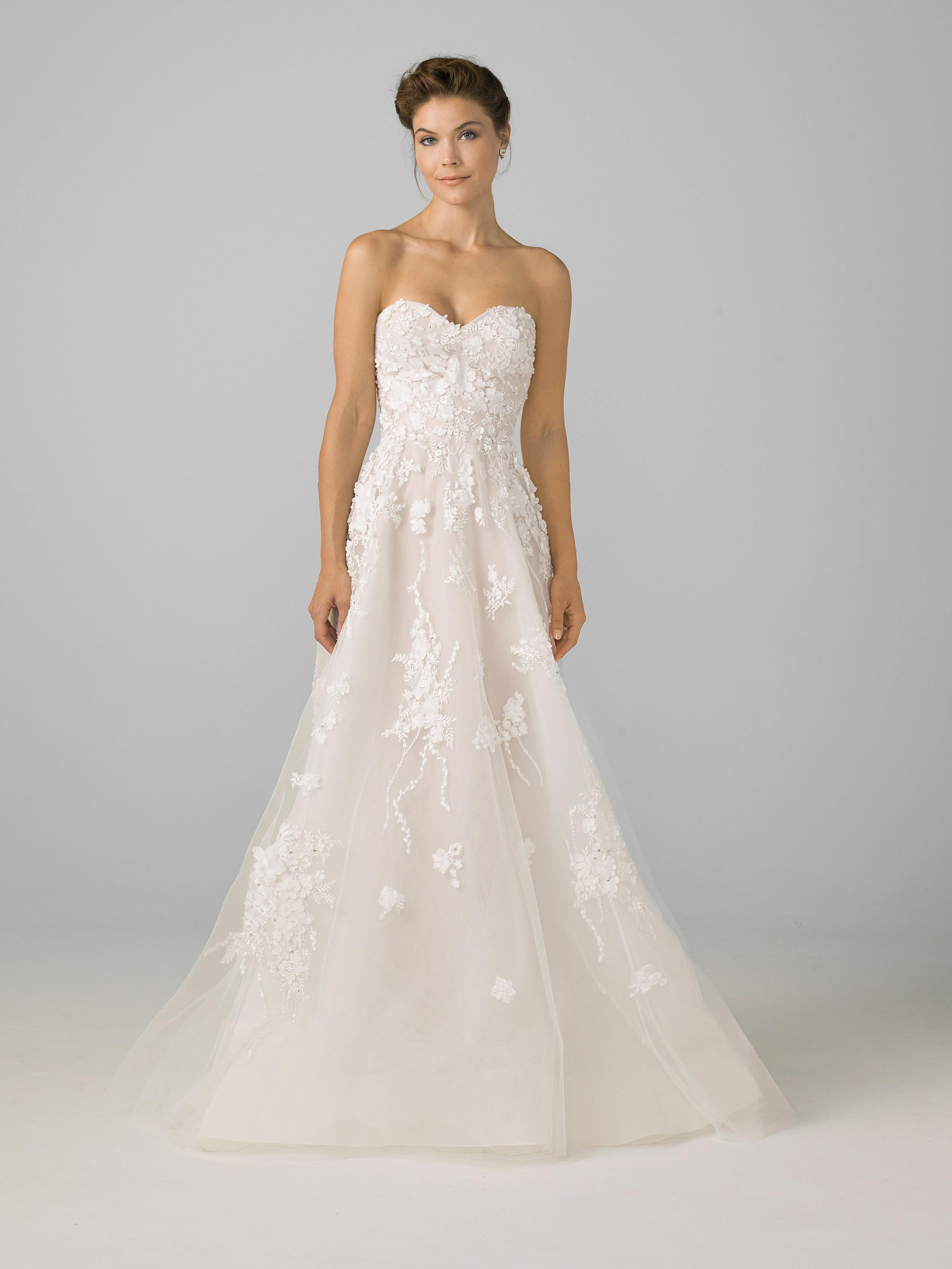 azul by liancarlo 2018 lace sweetheart wedding dress