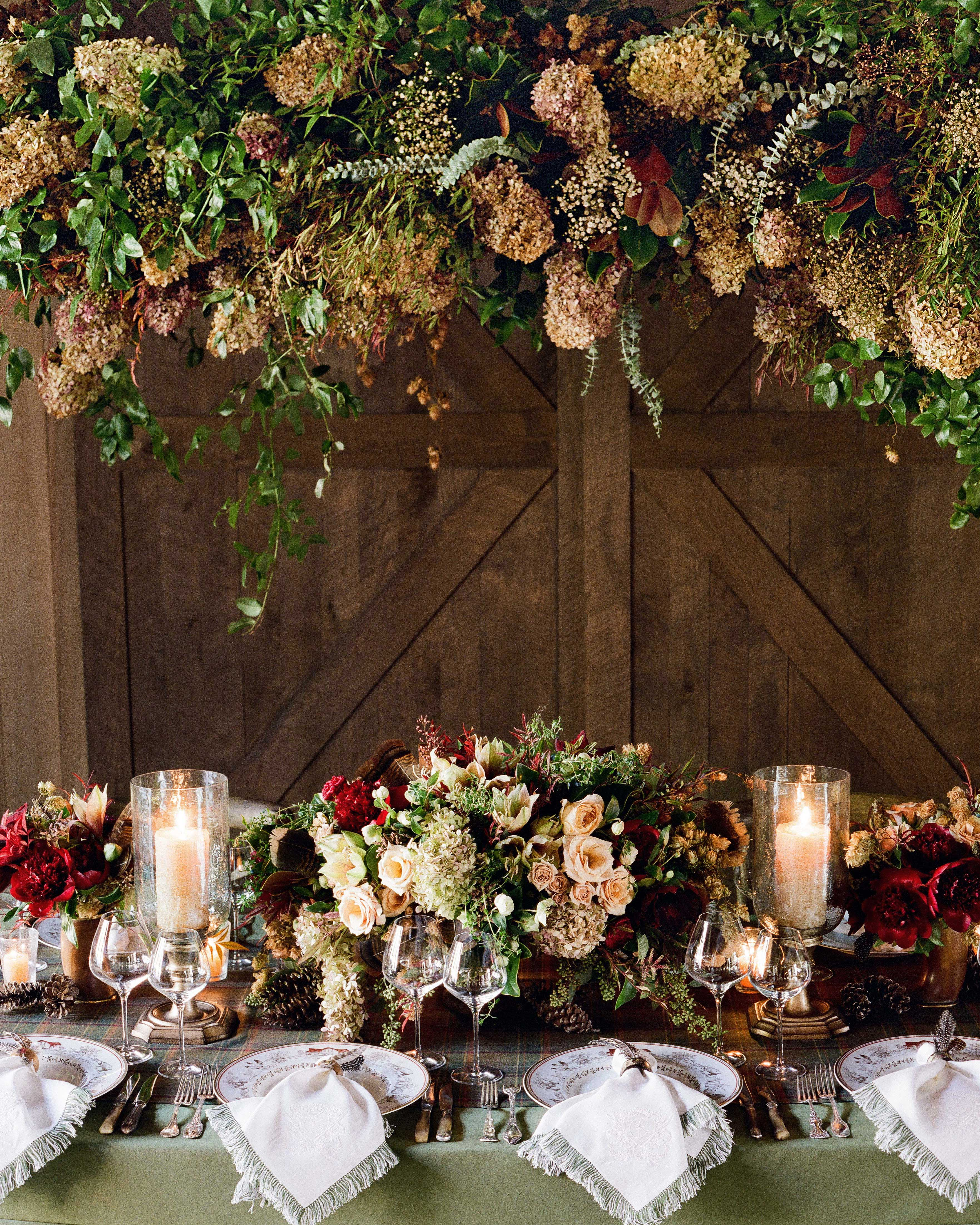 24 Dried Flower Arrangements That Are Perfect For A Fall Wedding Martha Stewart Weddings