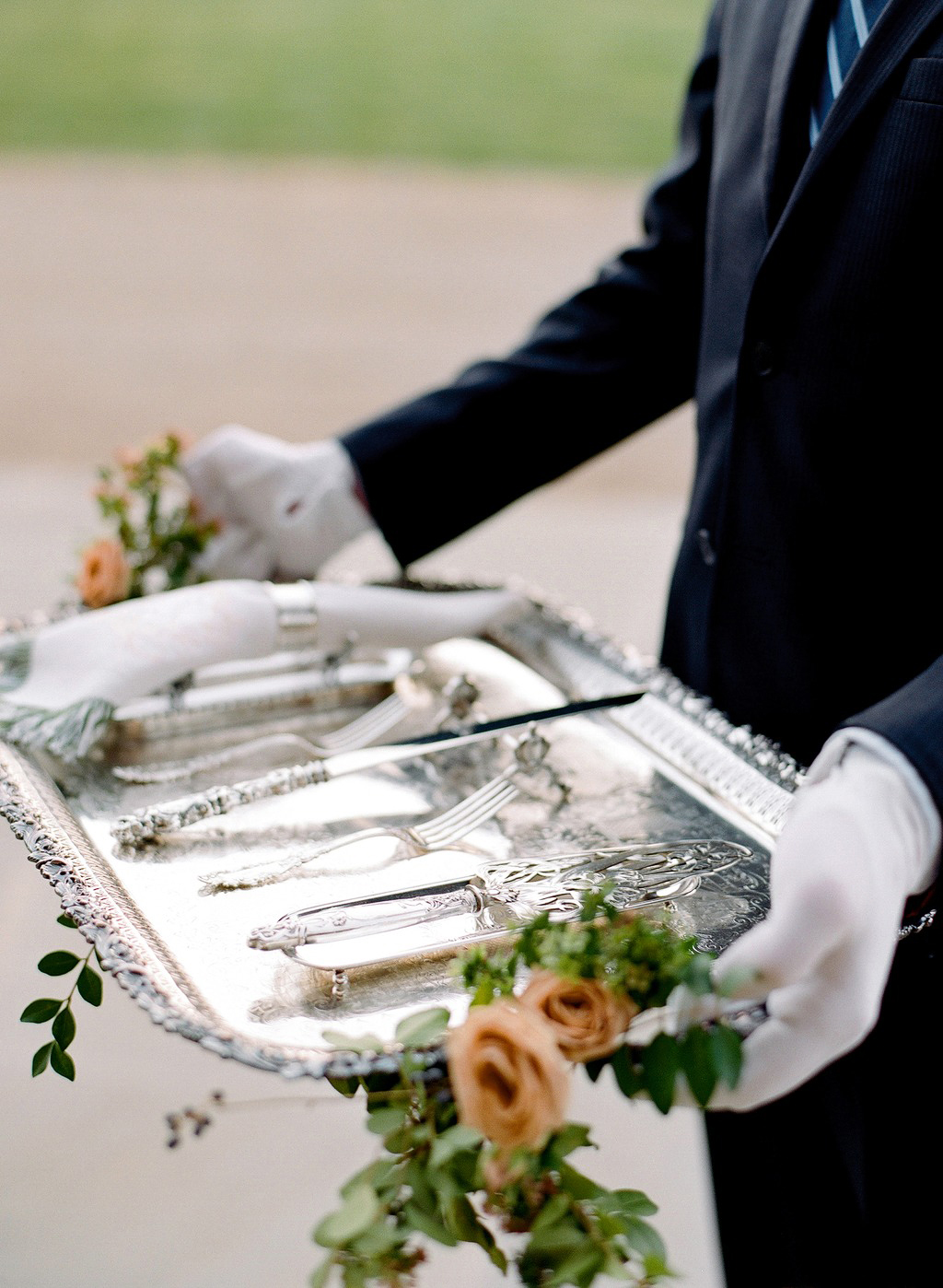 wedding silverware