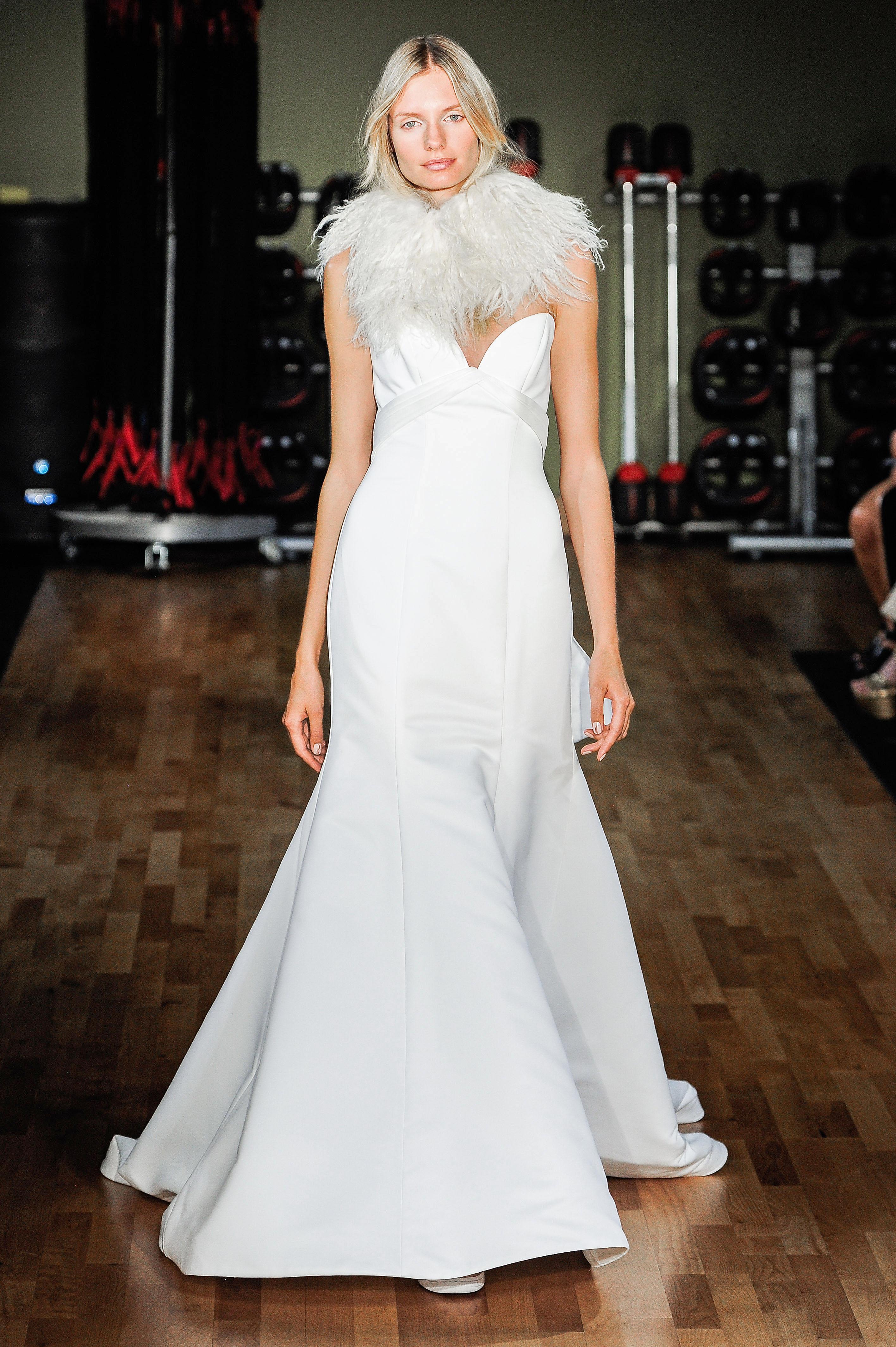 Rivini by Rita Vinieris Sweetheart Trumpet Wedding Dress Fall 2018