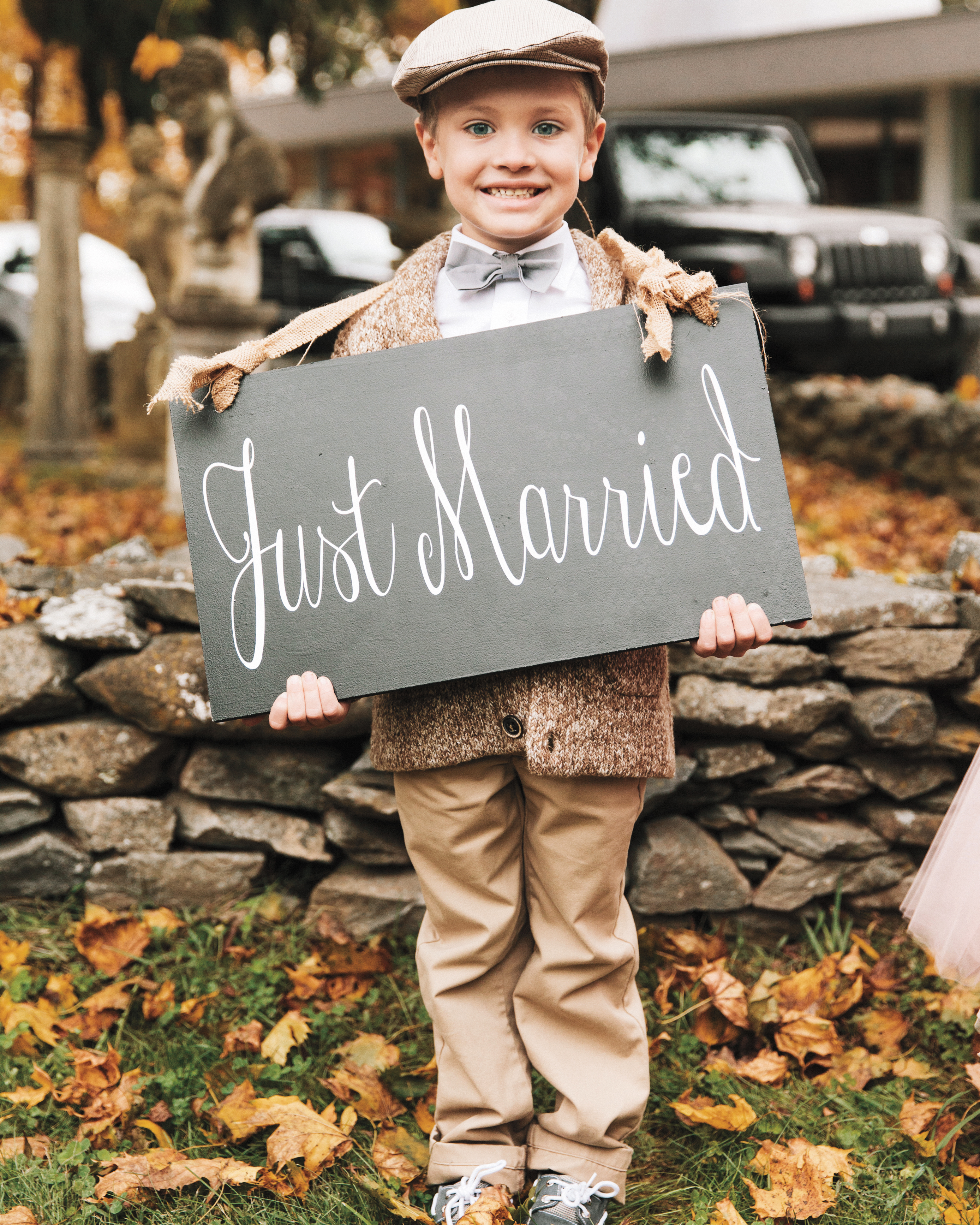 The Most Stylish Ring Bearer Outfits for a Fall Wedding