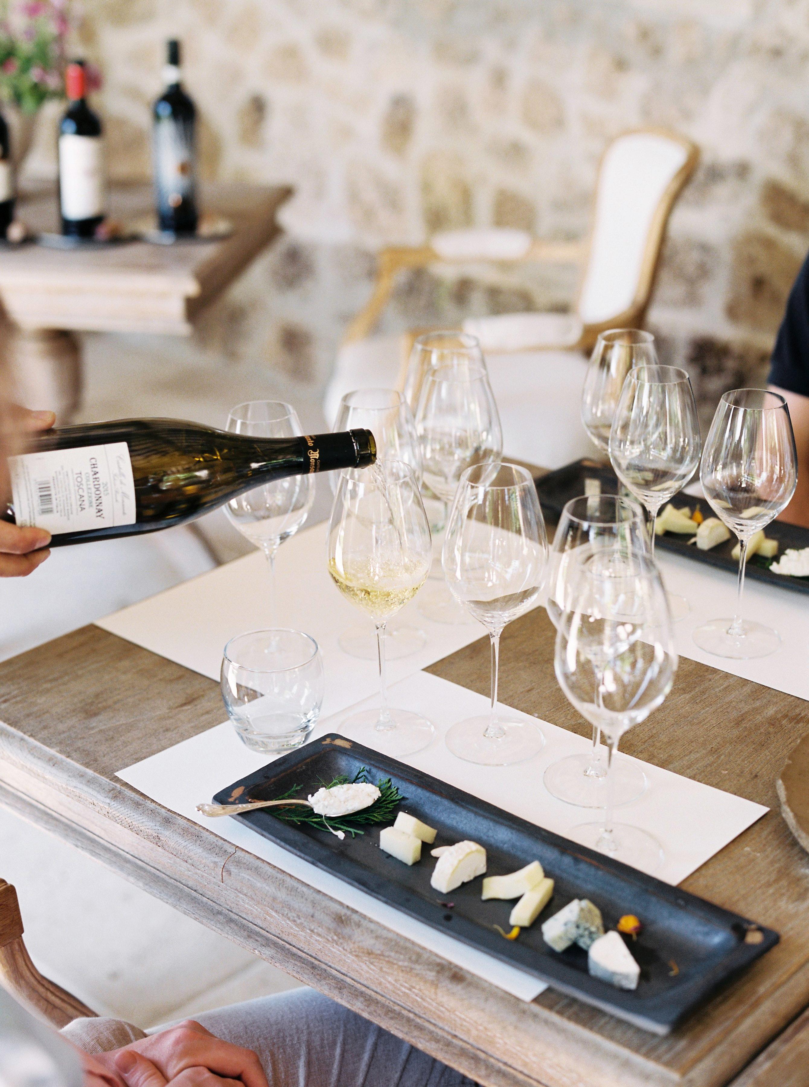 alexis zach wedding italy cheese tasting wine