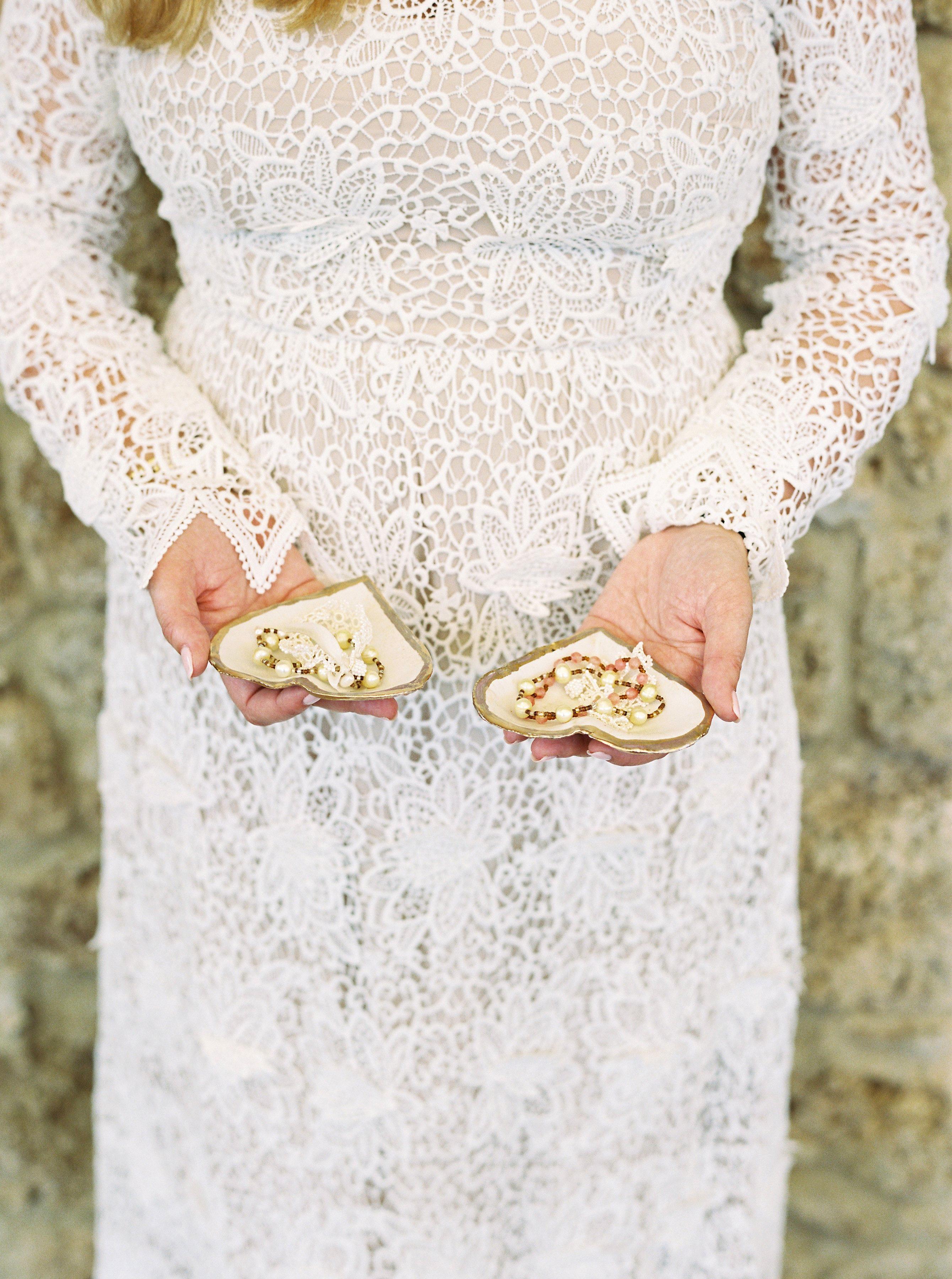 alexis zach wedding italy dishes