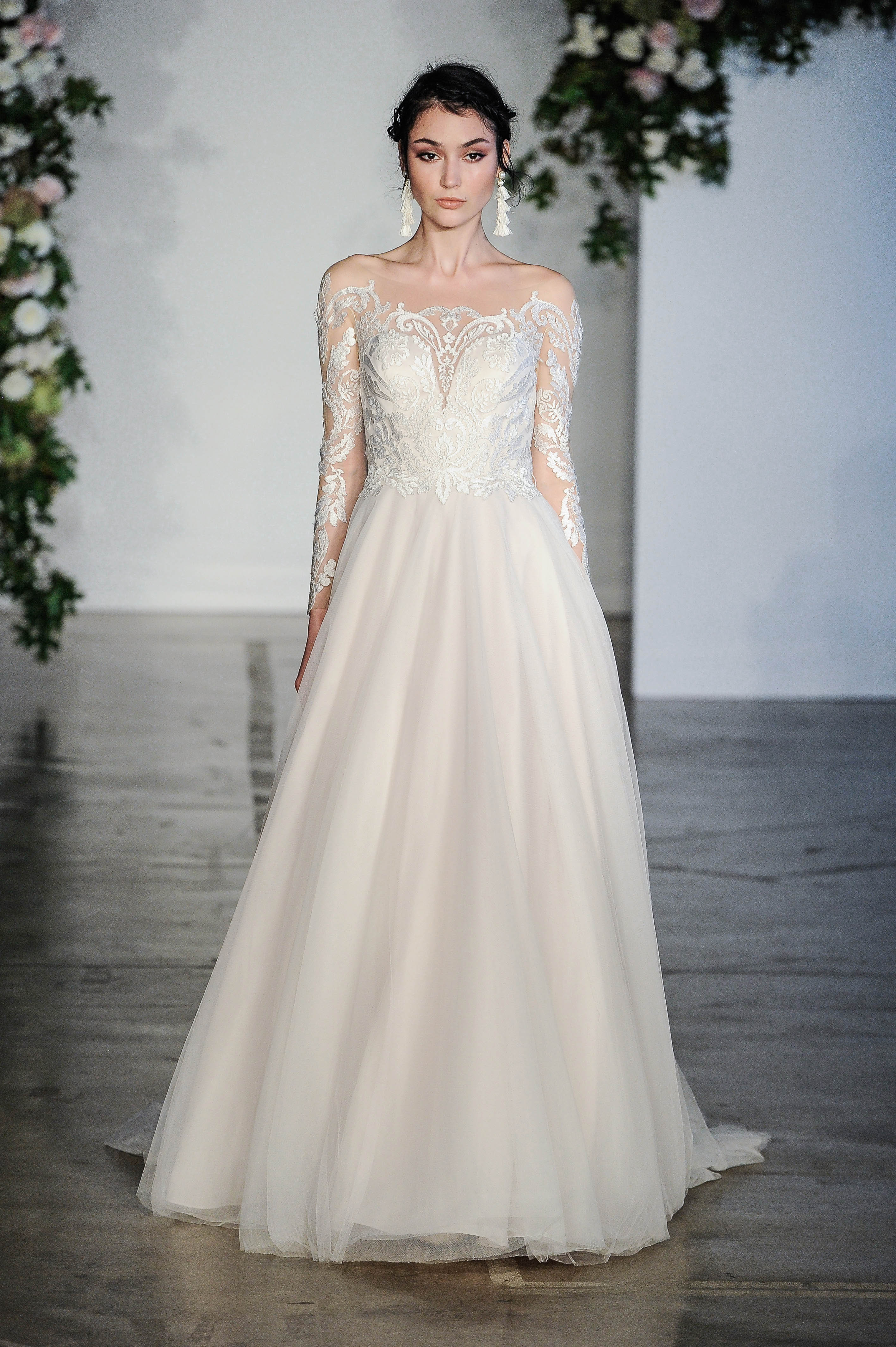 Morilee Embellished Sweetheart Wedding Dress Fall 2018