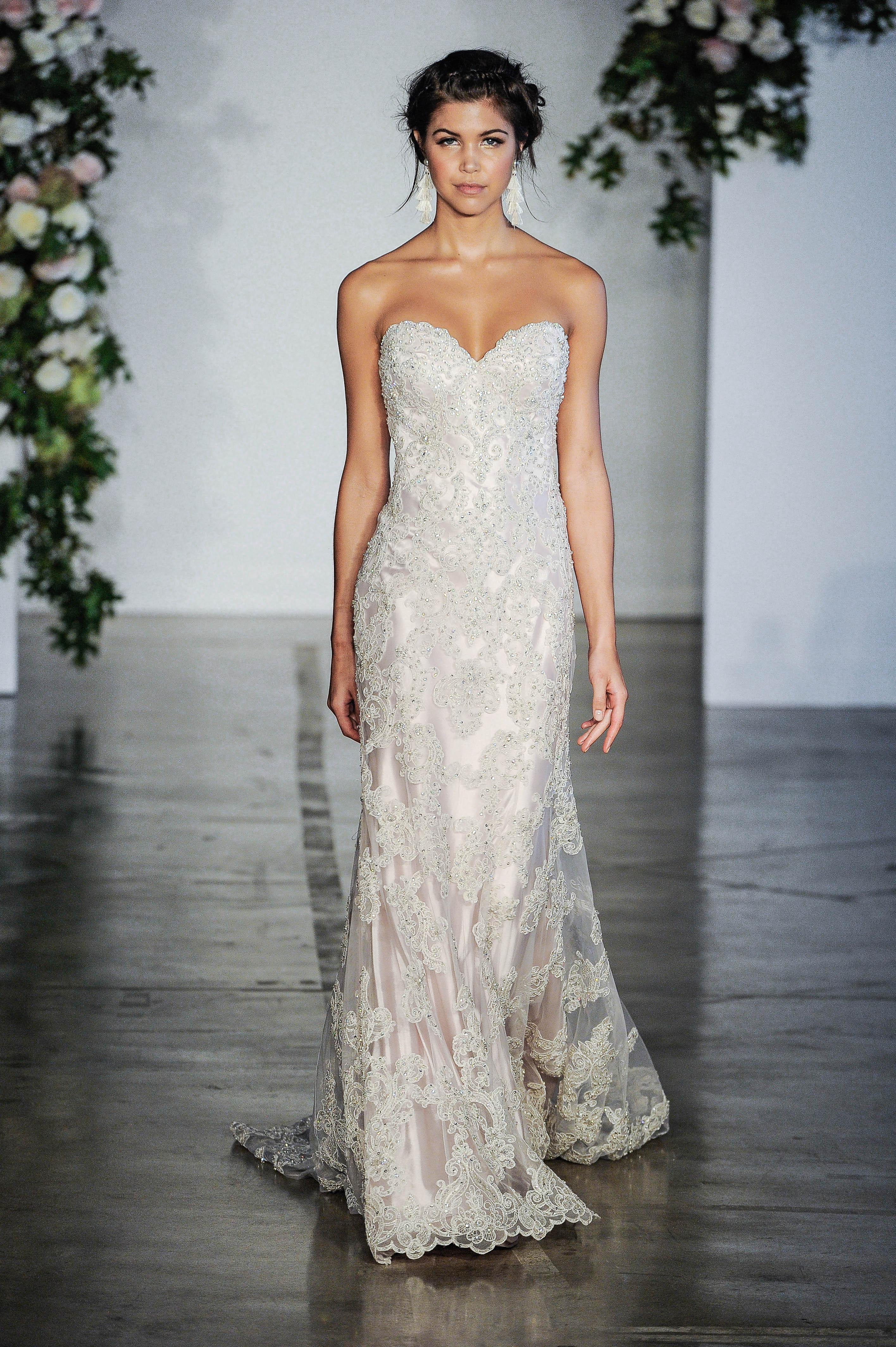 Morilee Sweetheart Sheath Wedding Dress Fall 2018