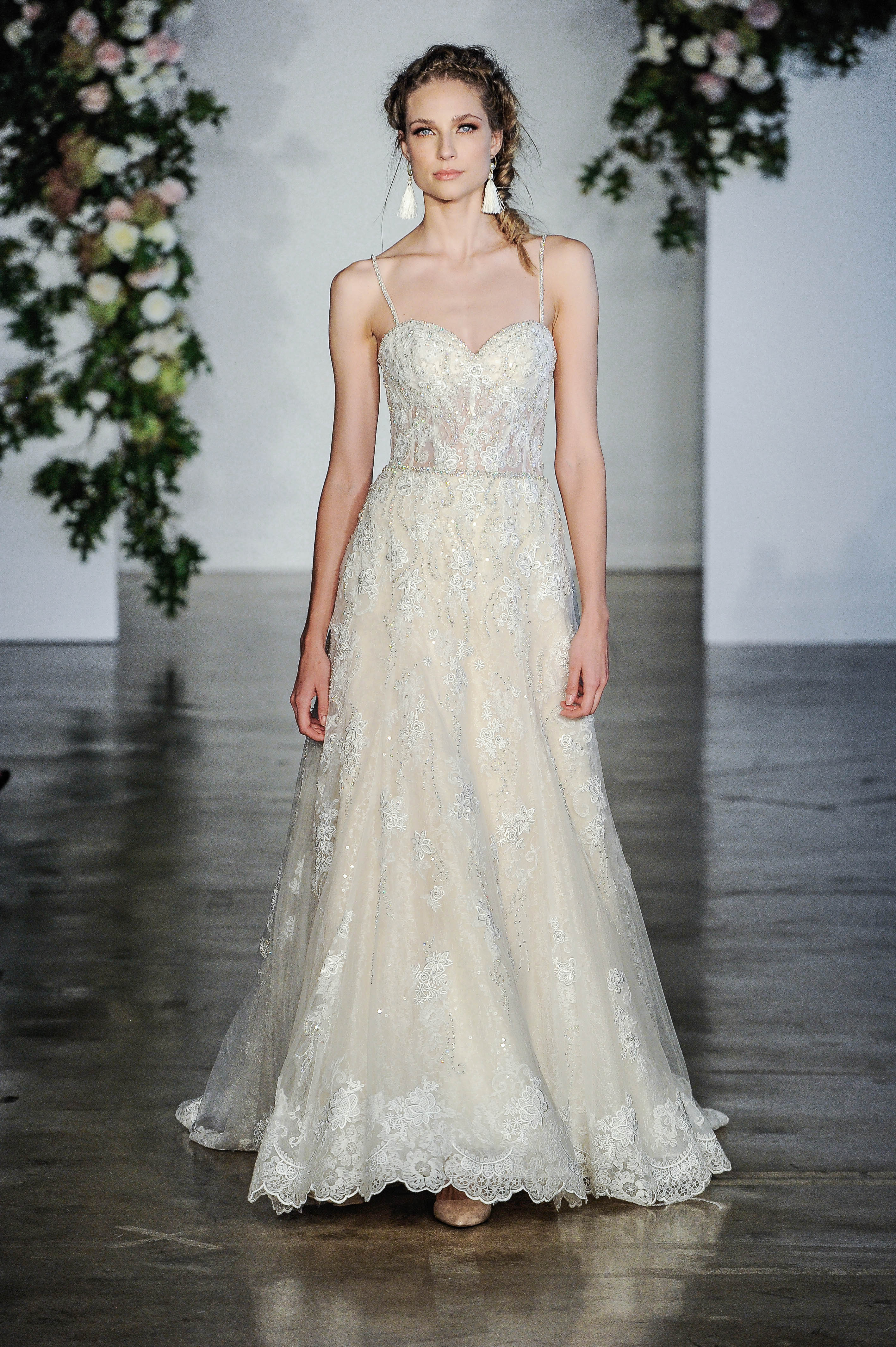 Morilee Spaghetti Strap Sweetheart Wedding Dress Fall 2018