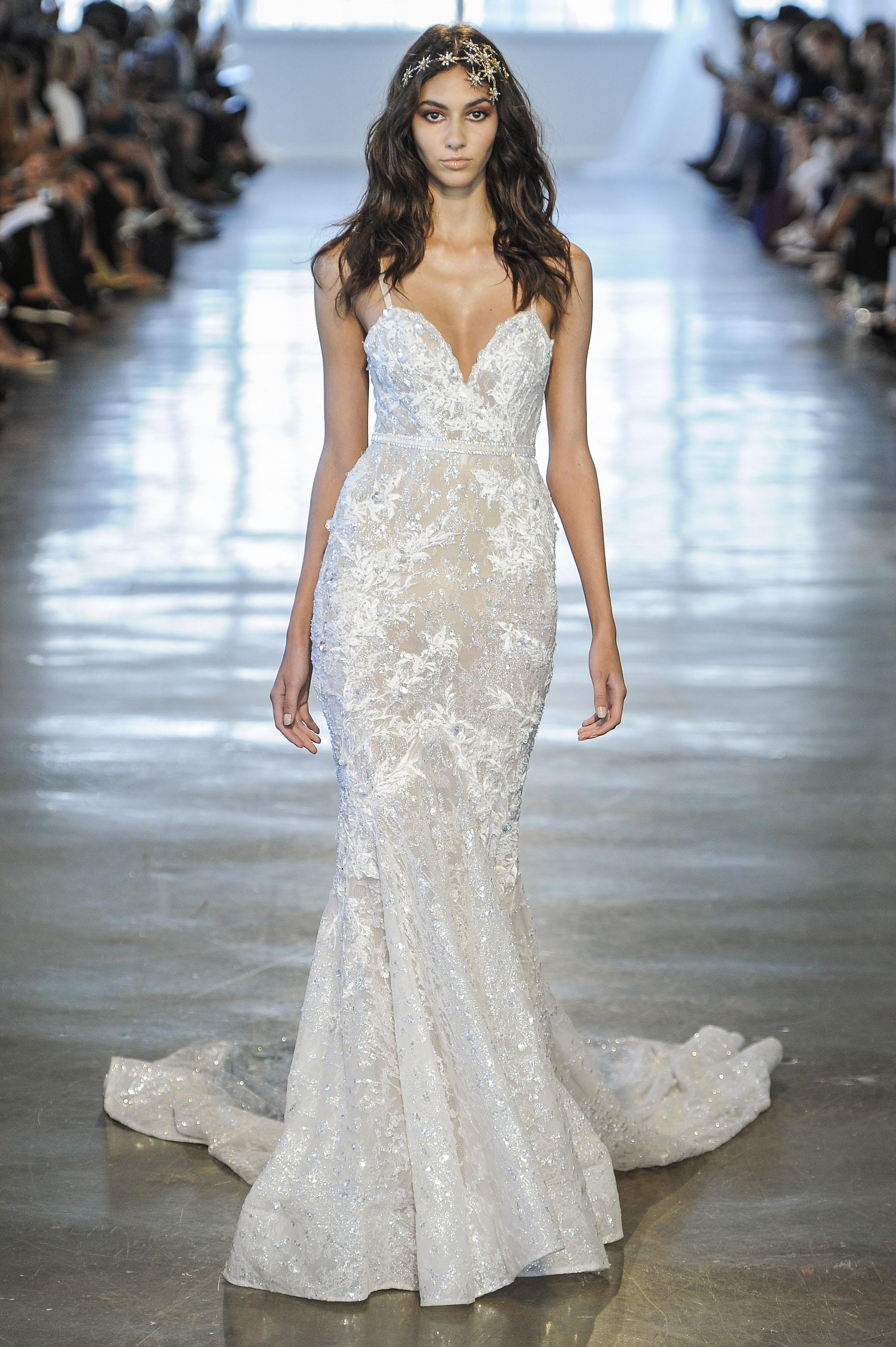 Berta Embellished Sweetheart Mermaid Wedding Dress Fall 2018