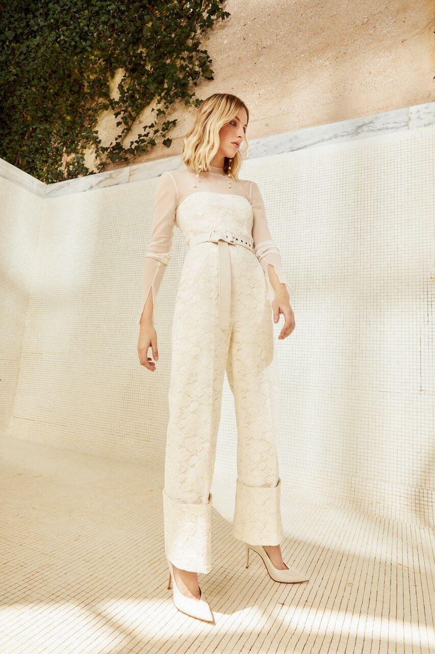 danielle frankel wedding jumpsuit