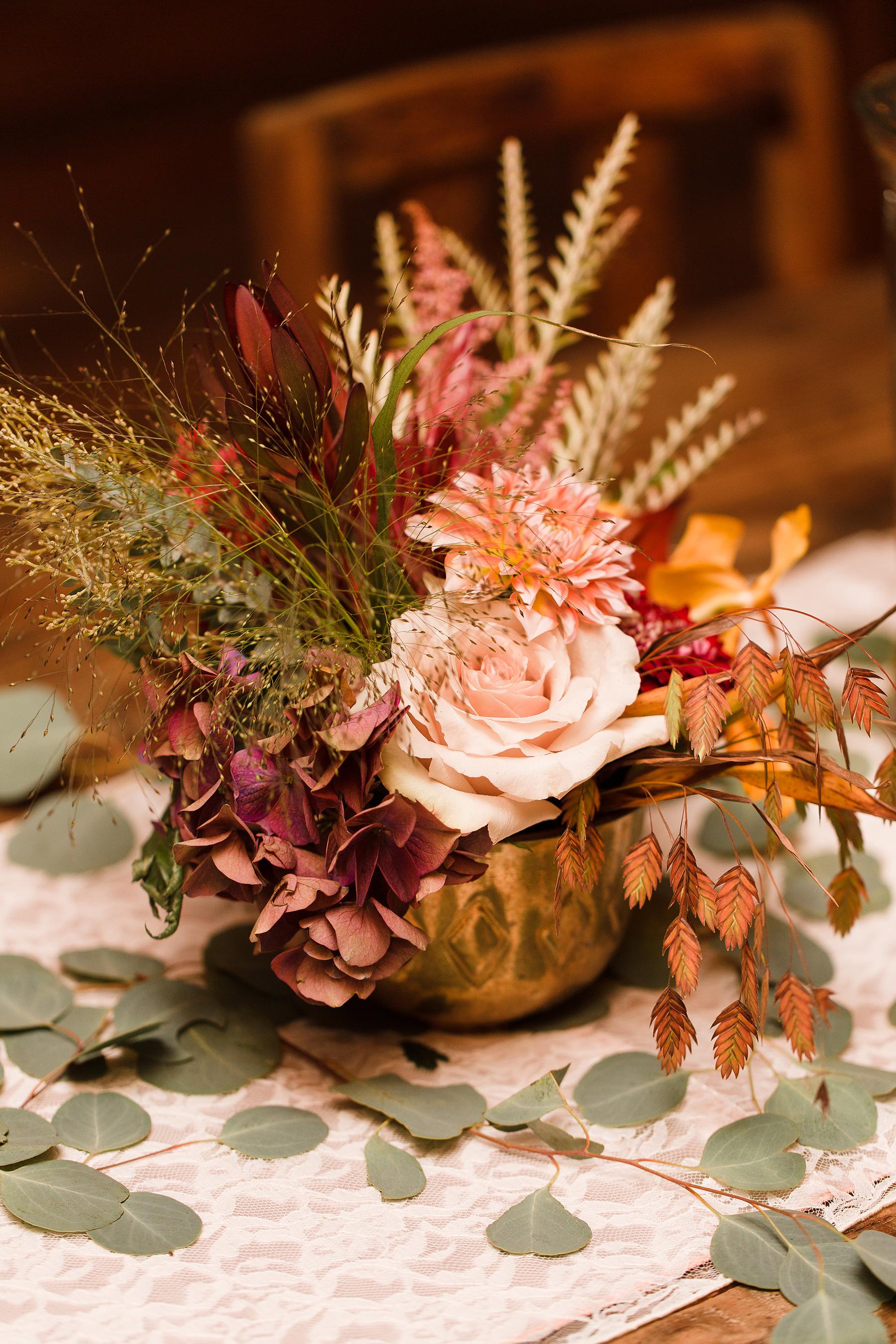 Dried Flower Centerpiece