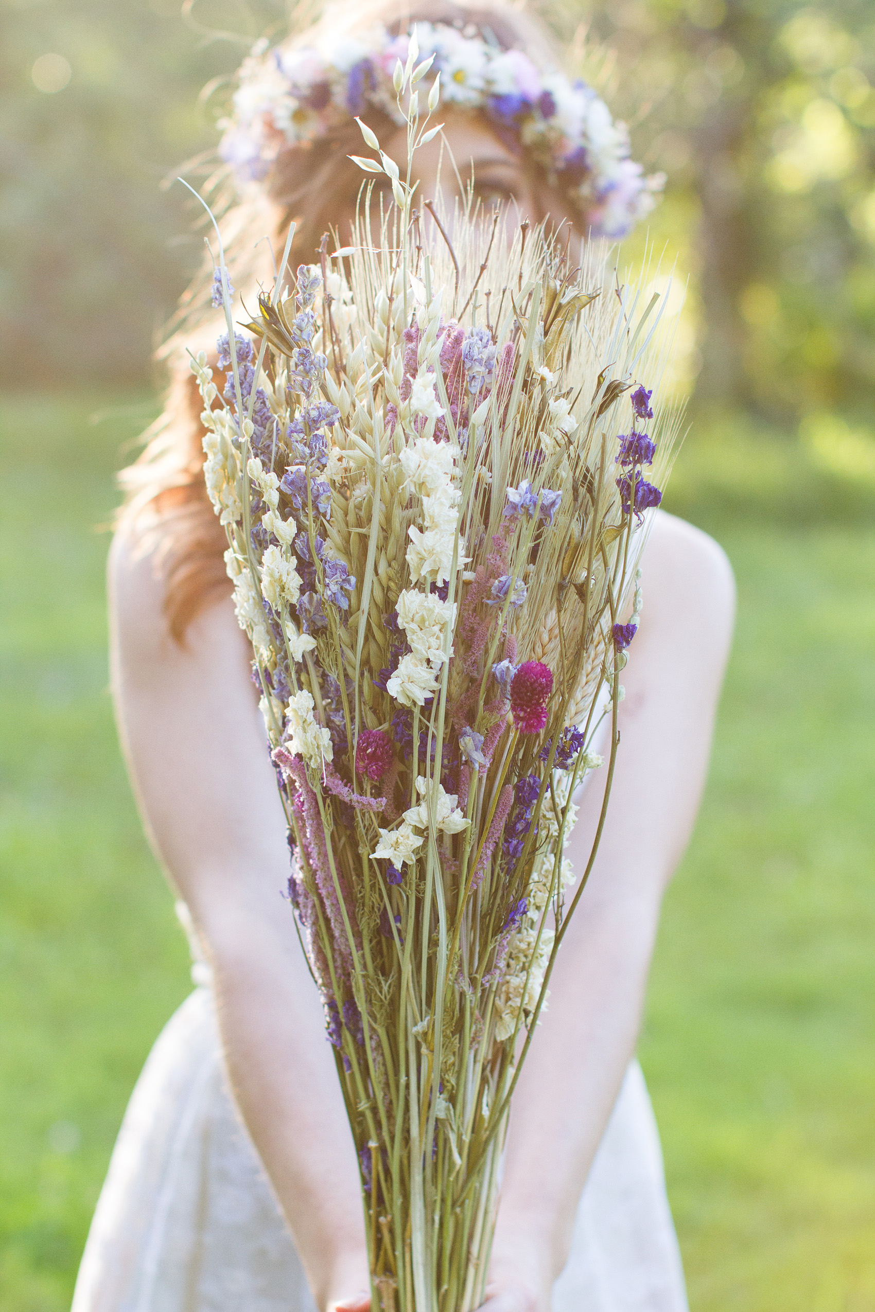 Dried Wildflower Bouquet