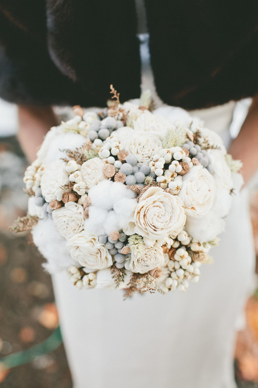 Dried Winter Flower Bouquet