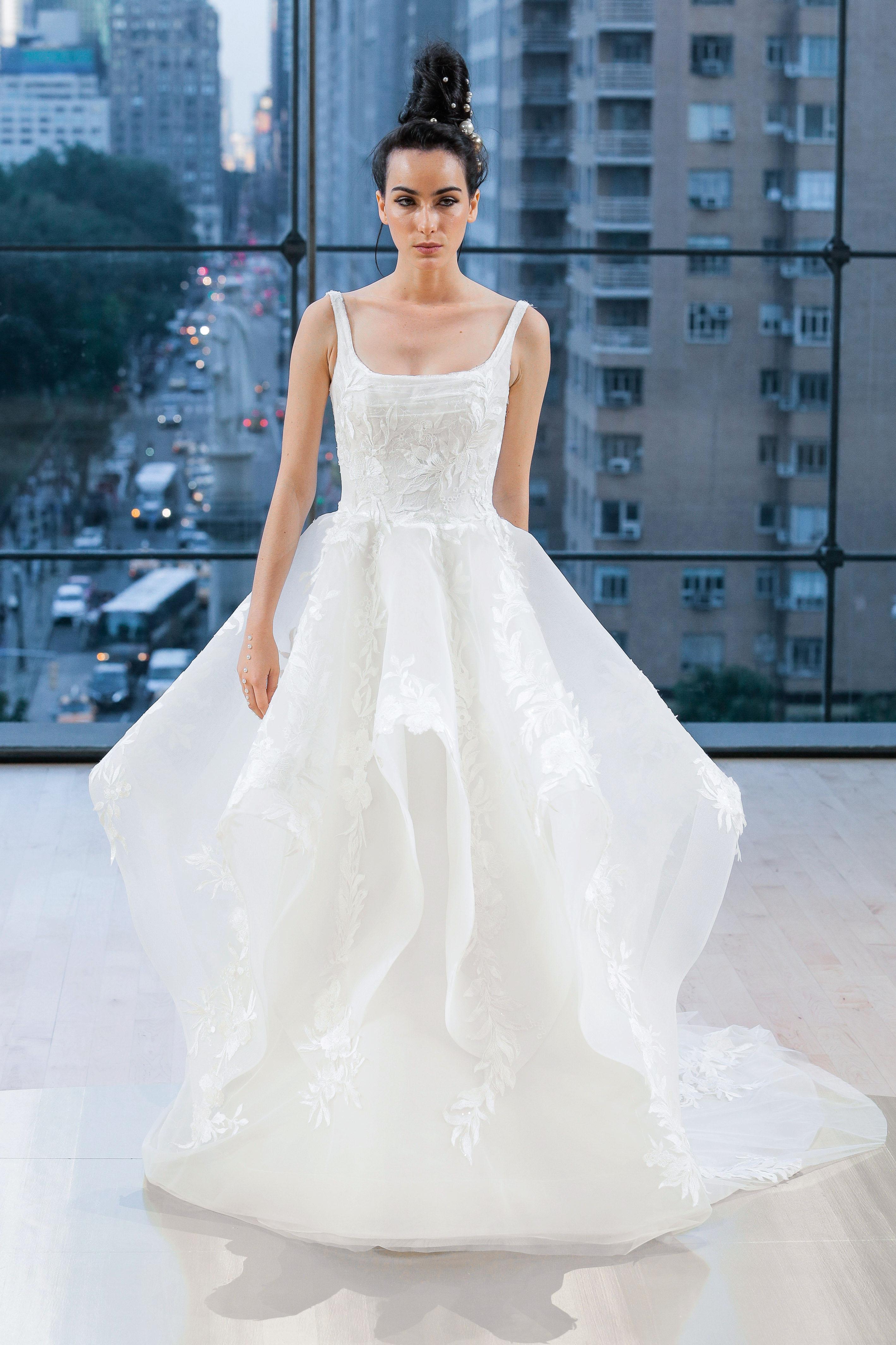 Ines Di Santo Ball Gown Wedding Dress Fall 2018