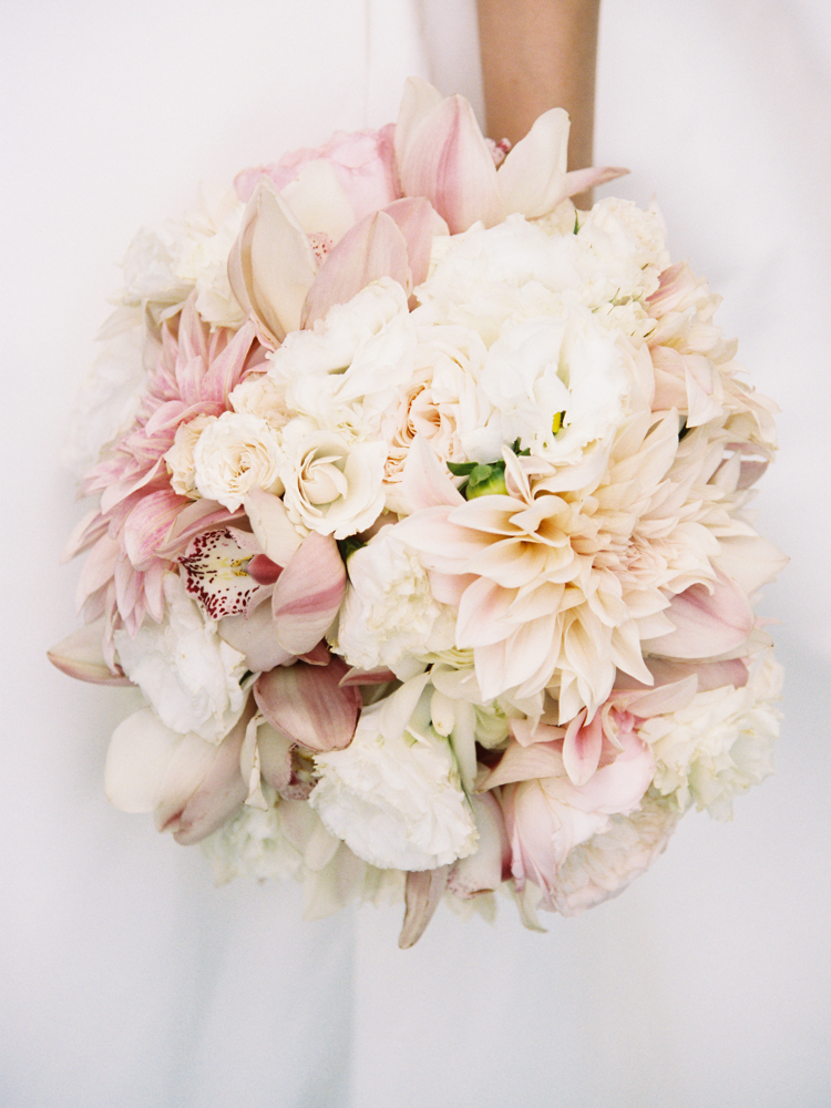 katherine jim wedding bouquet