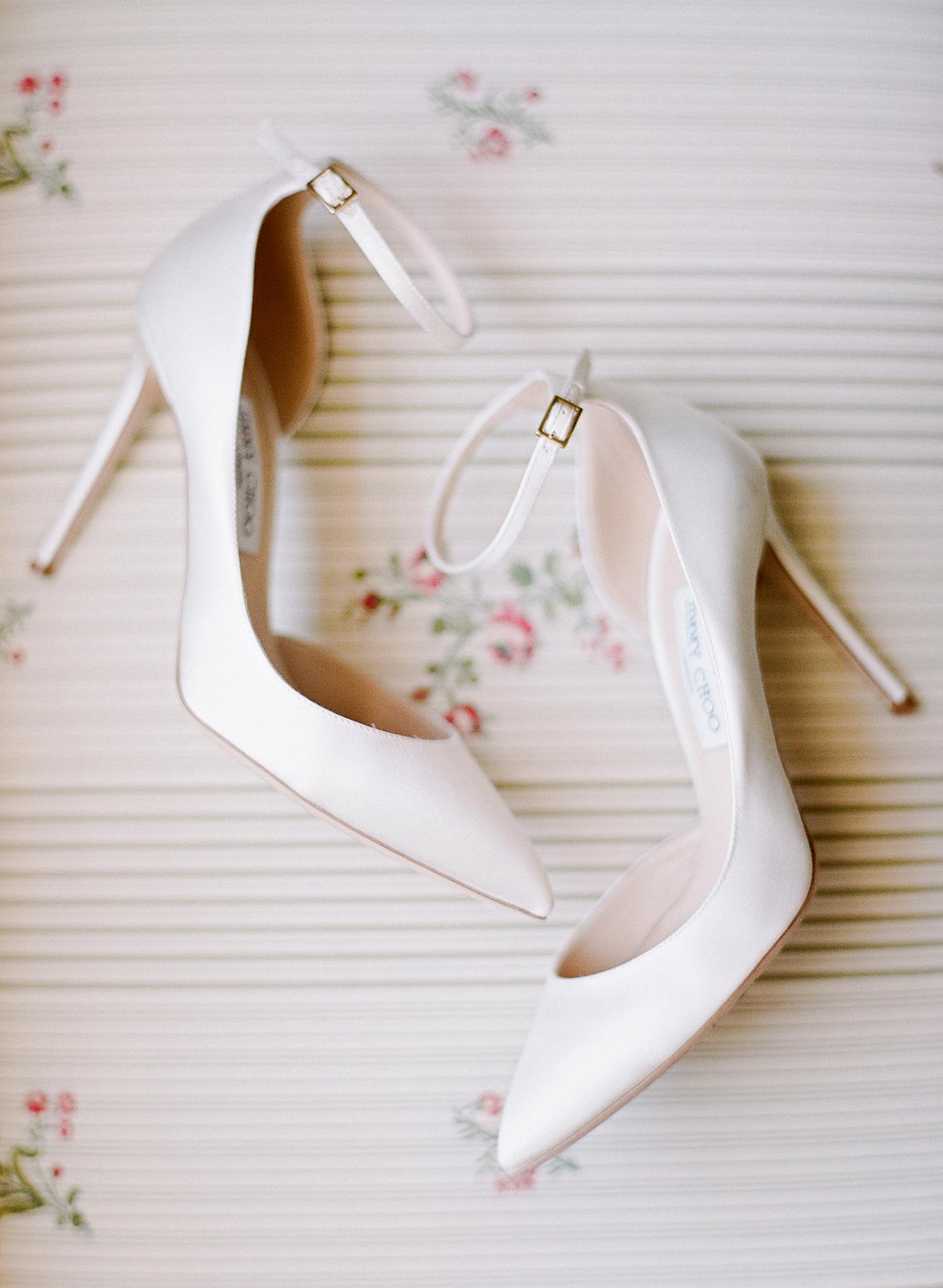 melissa michael brides shoes jimmy choo
