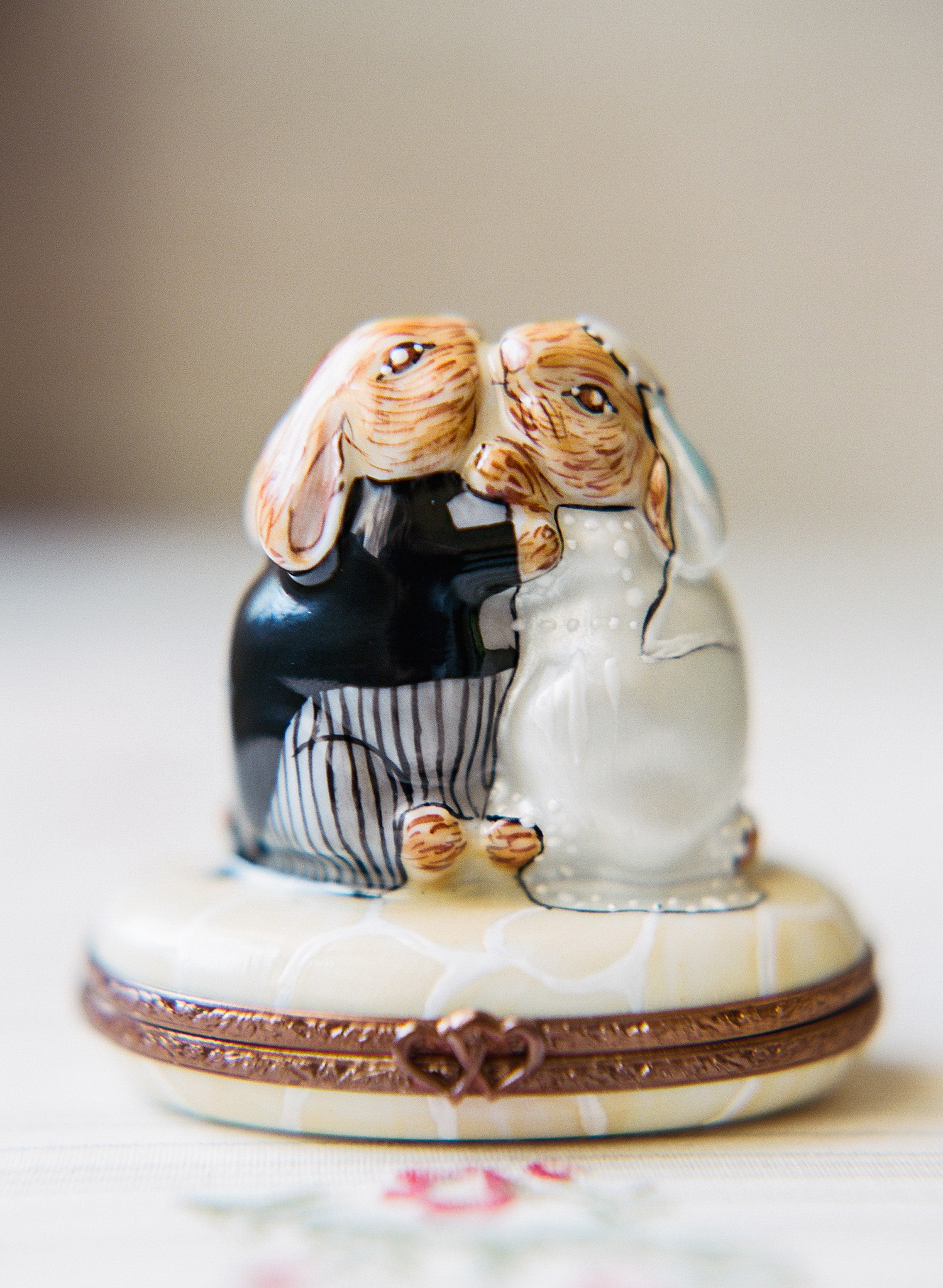 melissa michael wedding bunnies keepsake