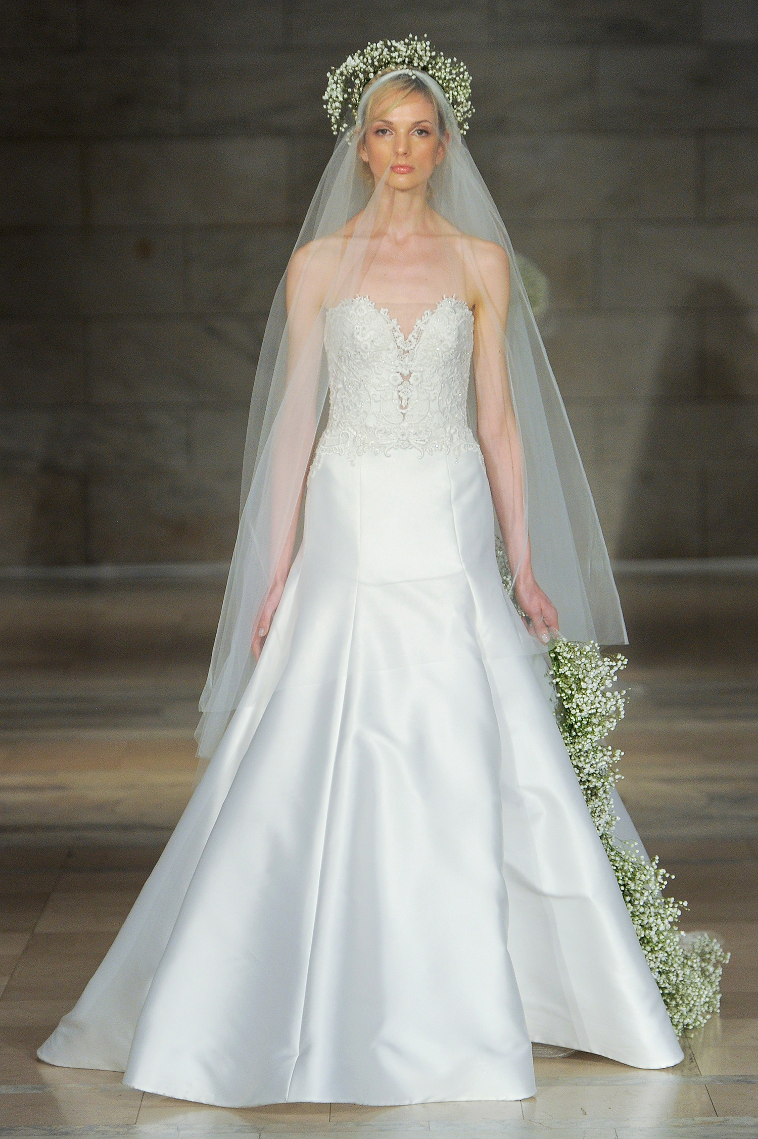 reem acra bridal market wedding dress fall 2018 sweetheart